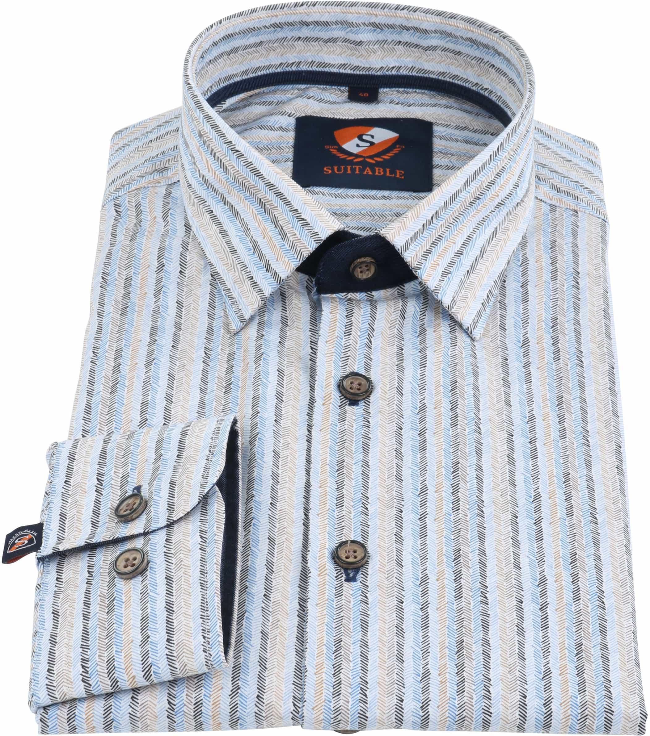 Suitable Overhemd Herring Print HBD foto 1