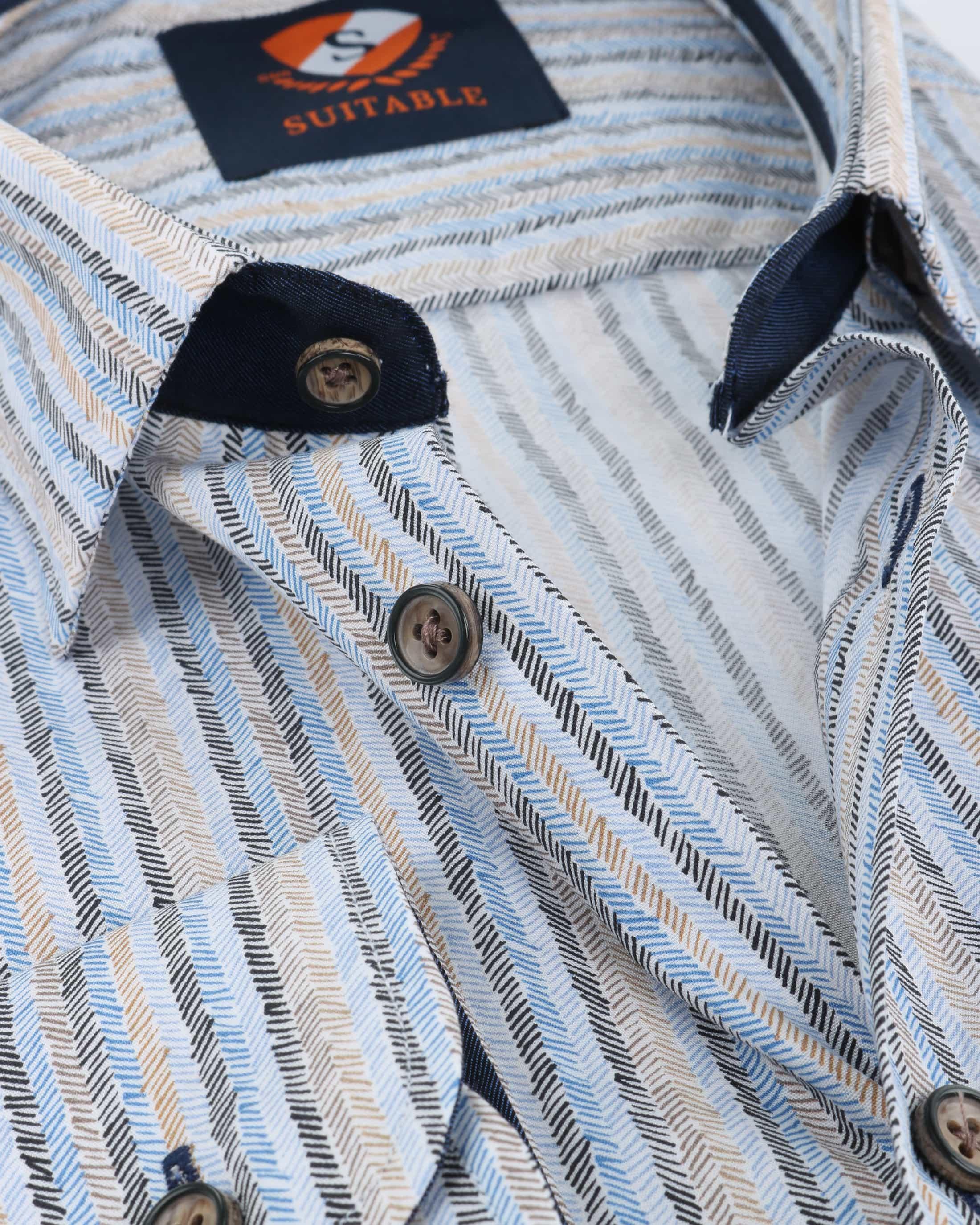 Suitable Overhemd Herring Print HBD foto 3