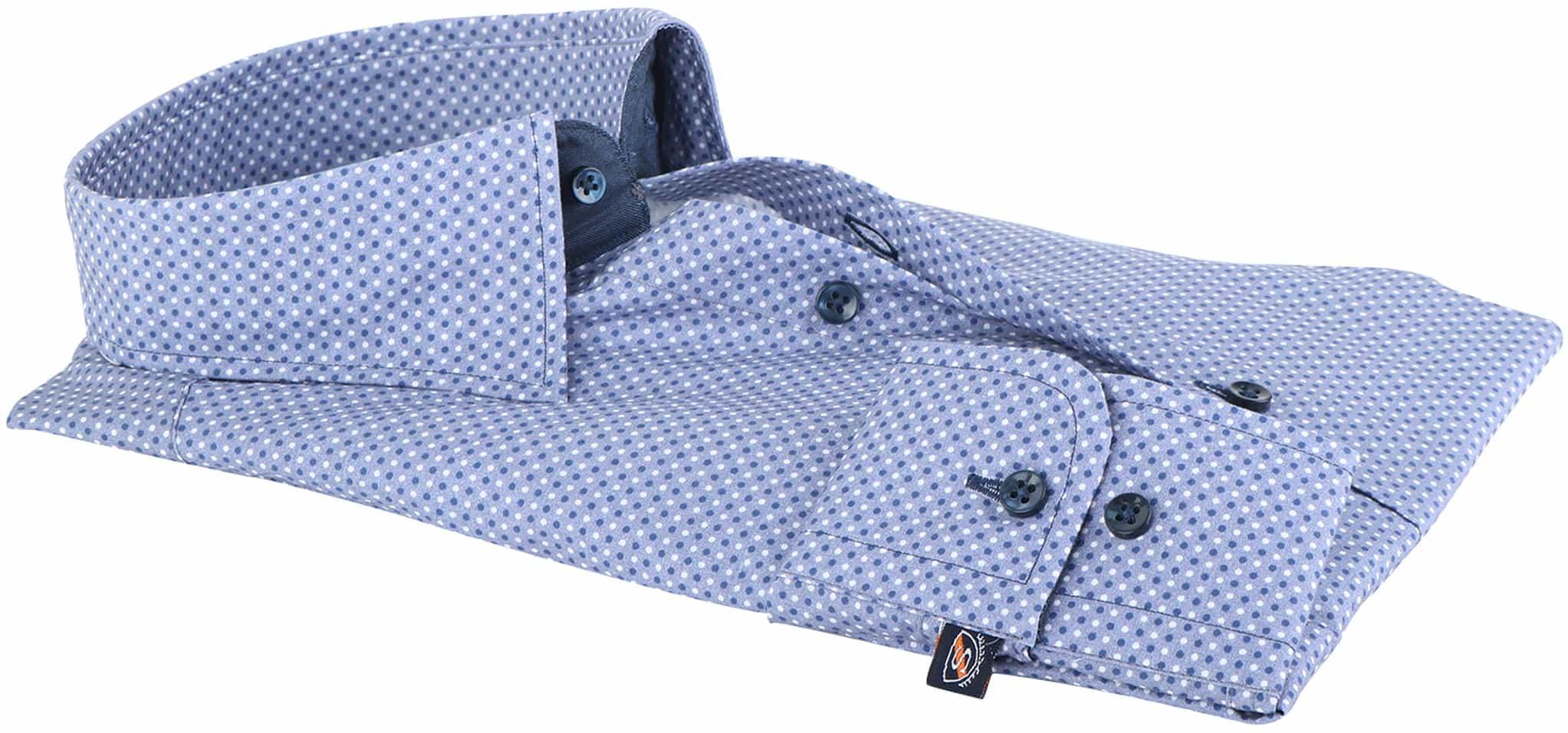 Suitable Overhemd Indigo Dots 143-4 foto 1