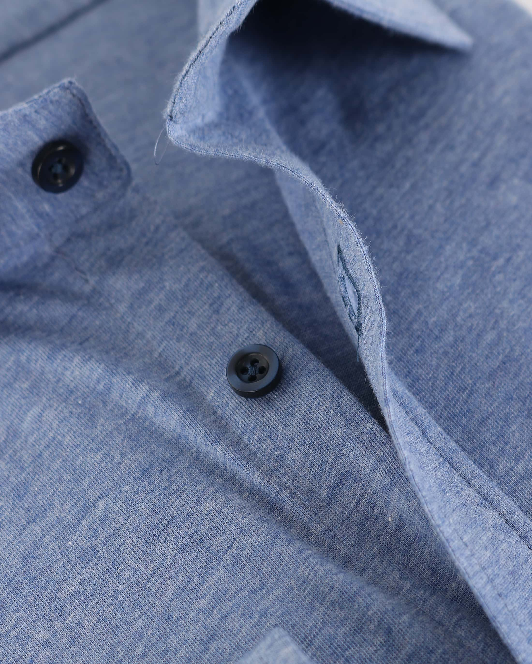 Suitable Overhemd Jersey Lichtblauw foto 1