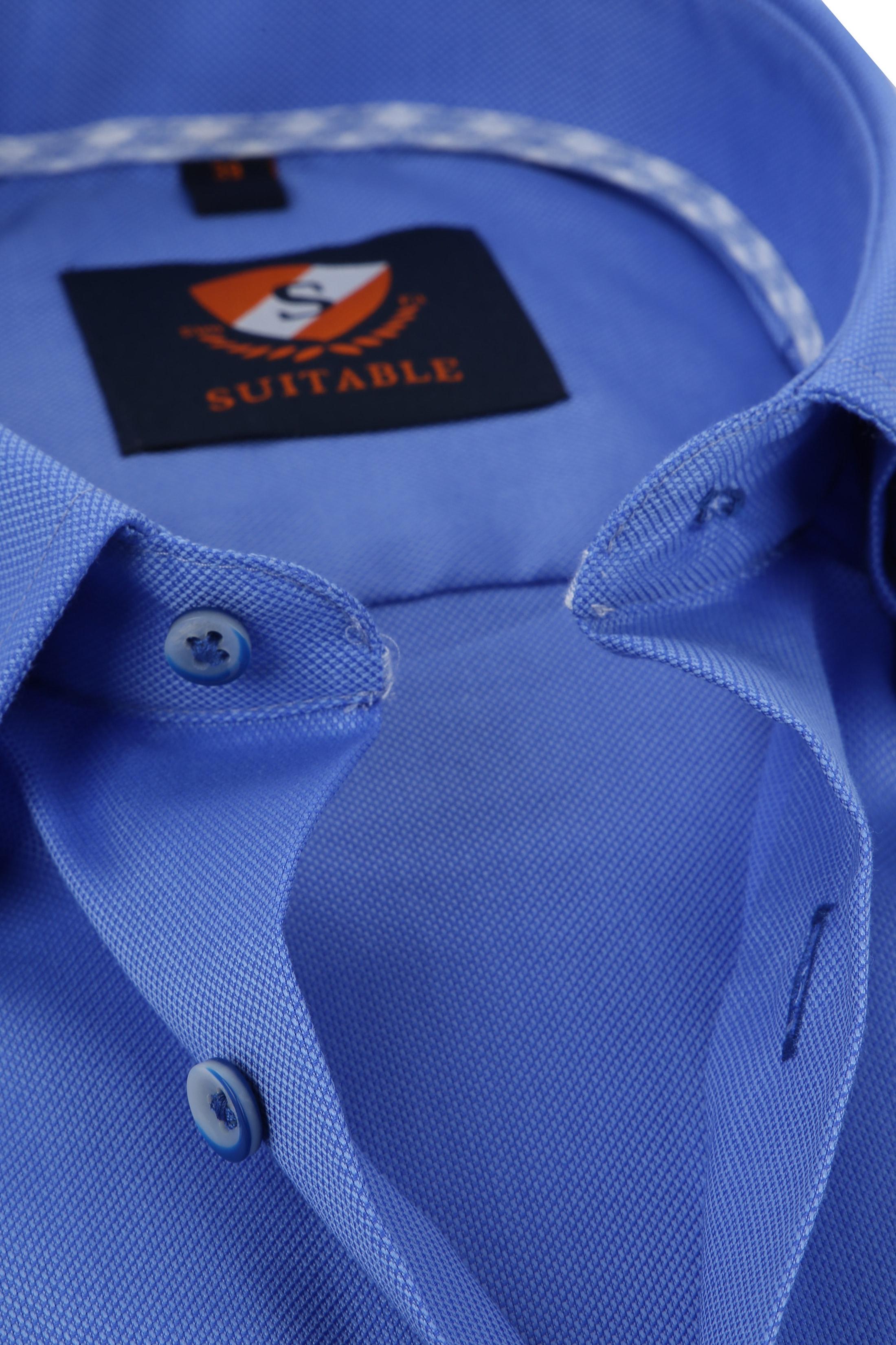 Suitable Overhemd Kobalt HBD foto 1