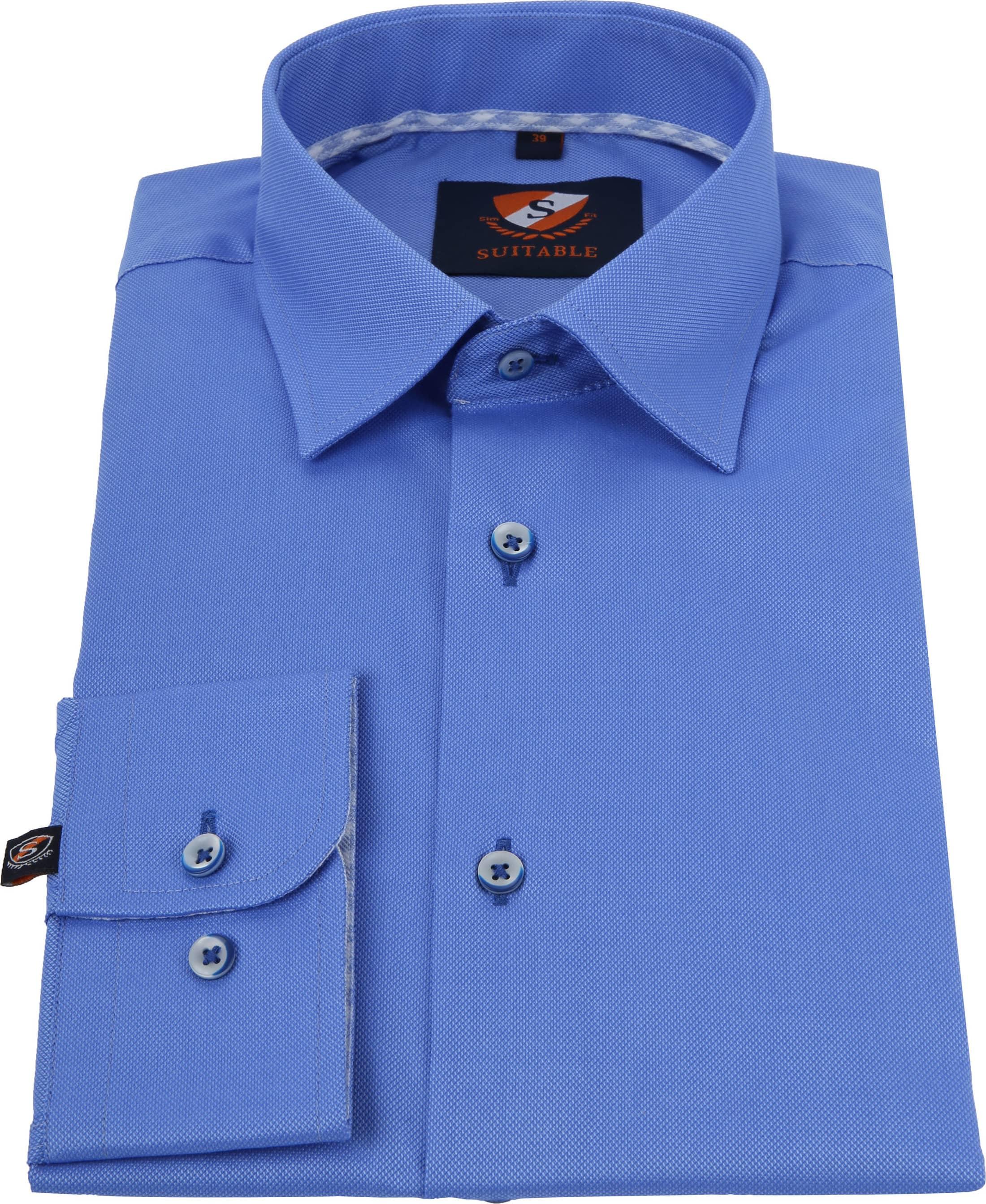 Suitable Overhemd Kobalt HBD foto 2