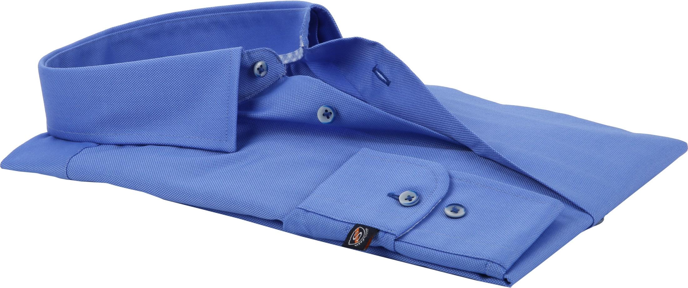 Suitable Overhemd Kobalt HBD foto 3