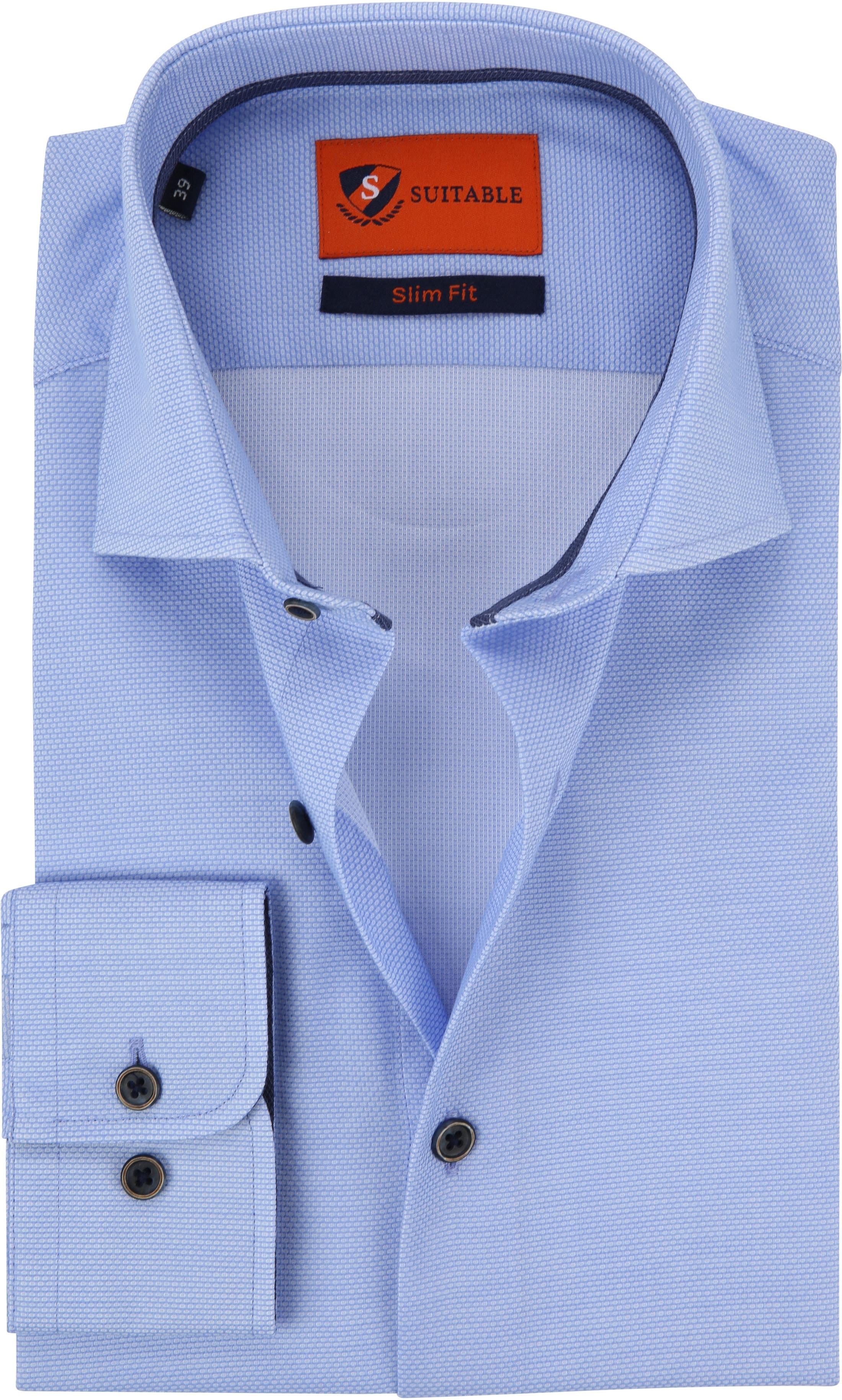 Suitable Overhemd Lichtblauw Waut foto 0