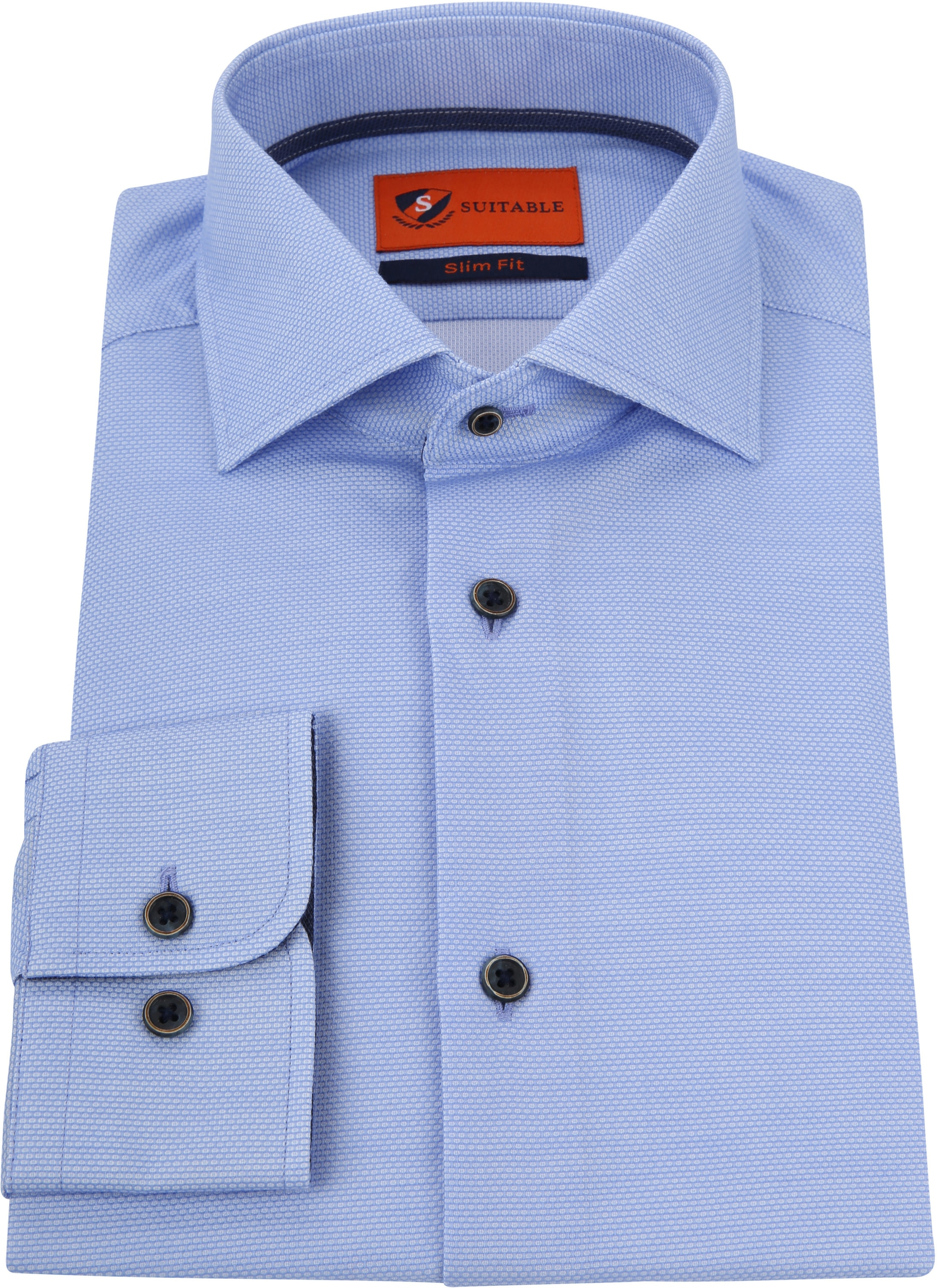 Suitable Overhemd Lichtblauw Waut foto 2