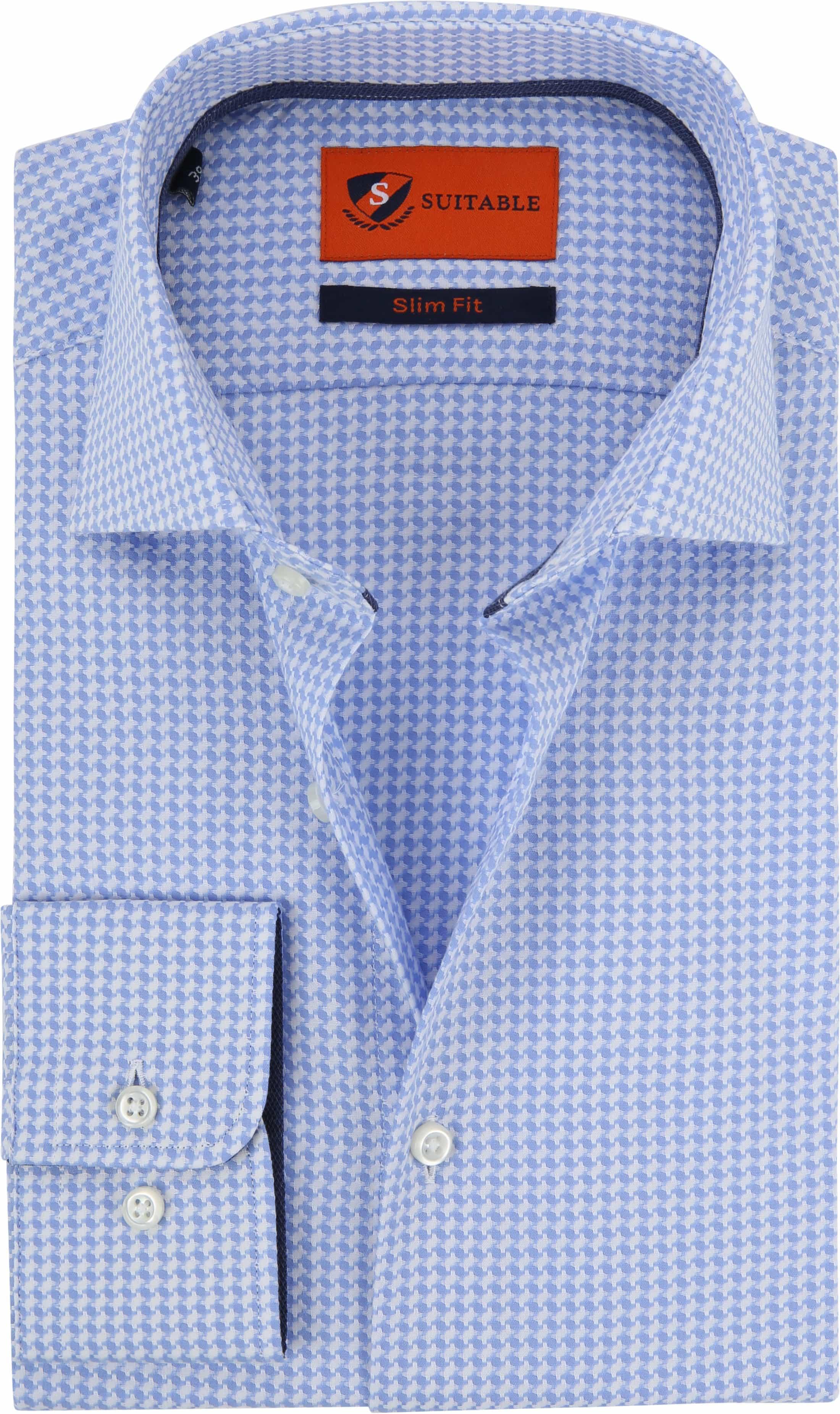 Suitable Overhemd Lichtblauw Wesley foto 0