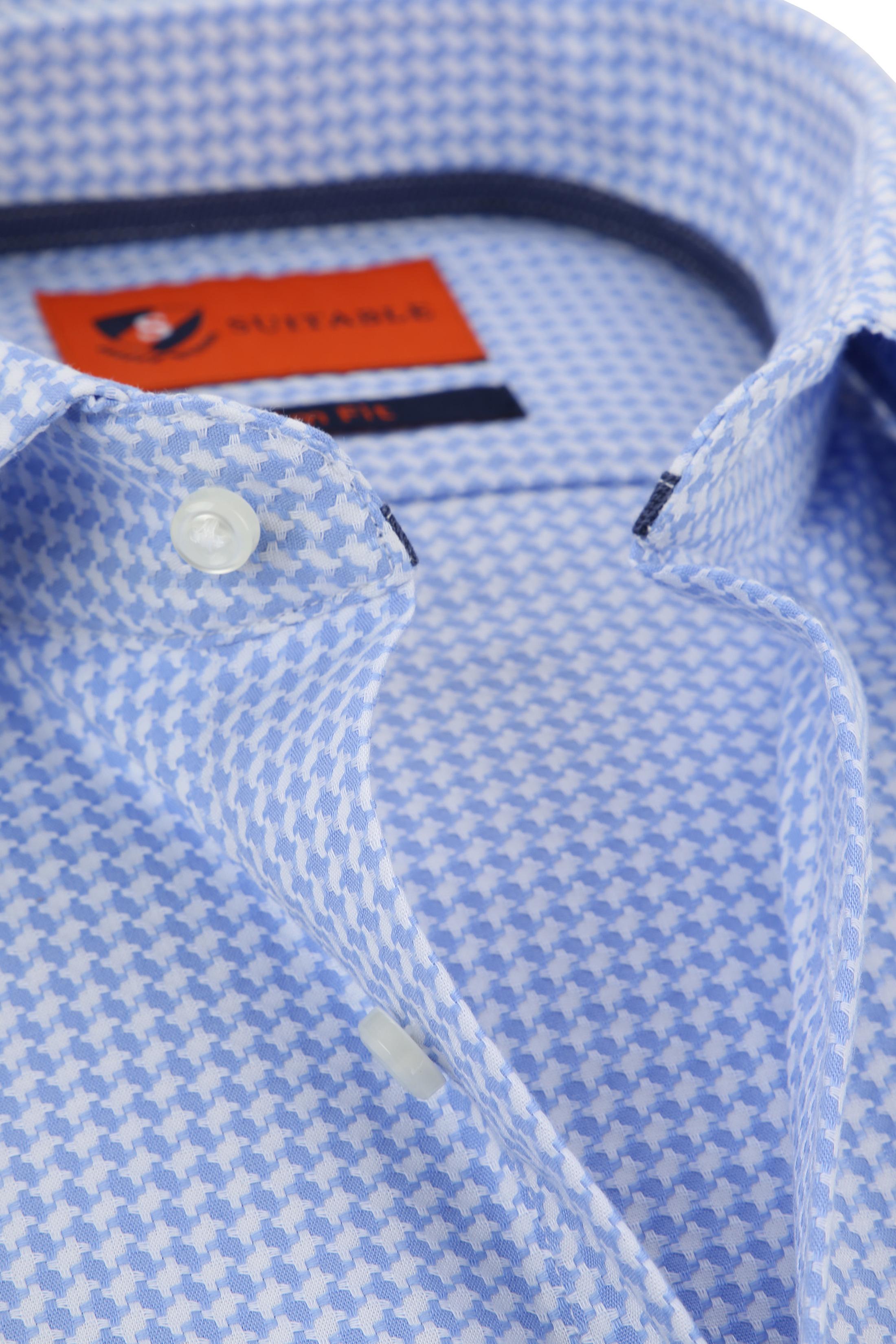 Suitable Overhemd Lichtblauw Wesley foto 1