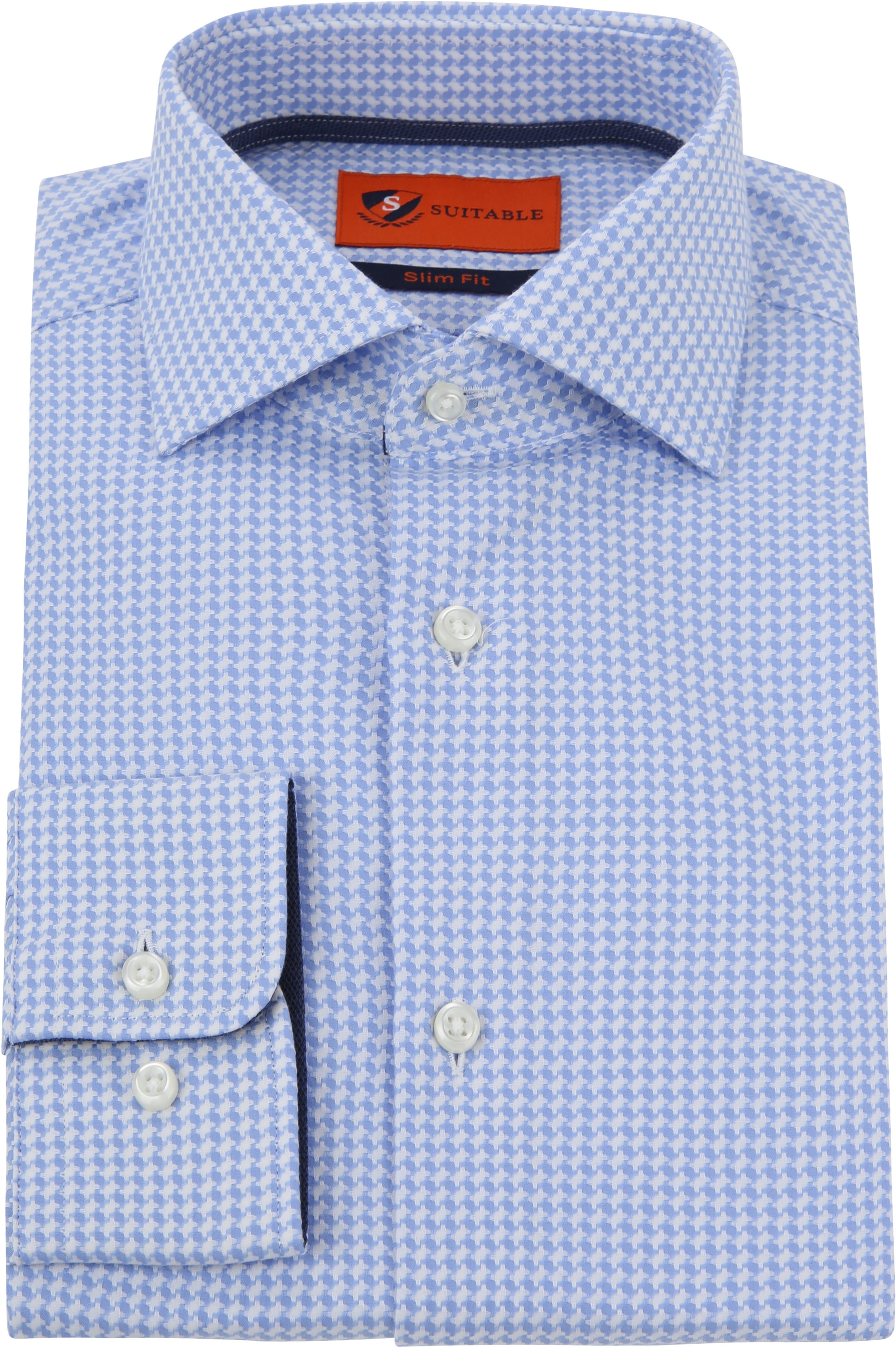 Suitable Overhemd Lichtblauw Wesley foto 2