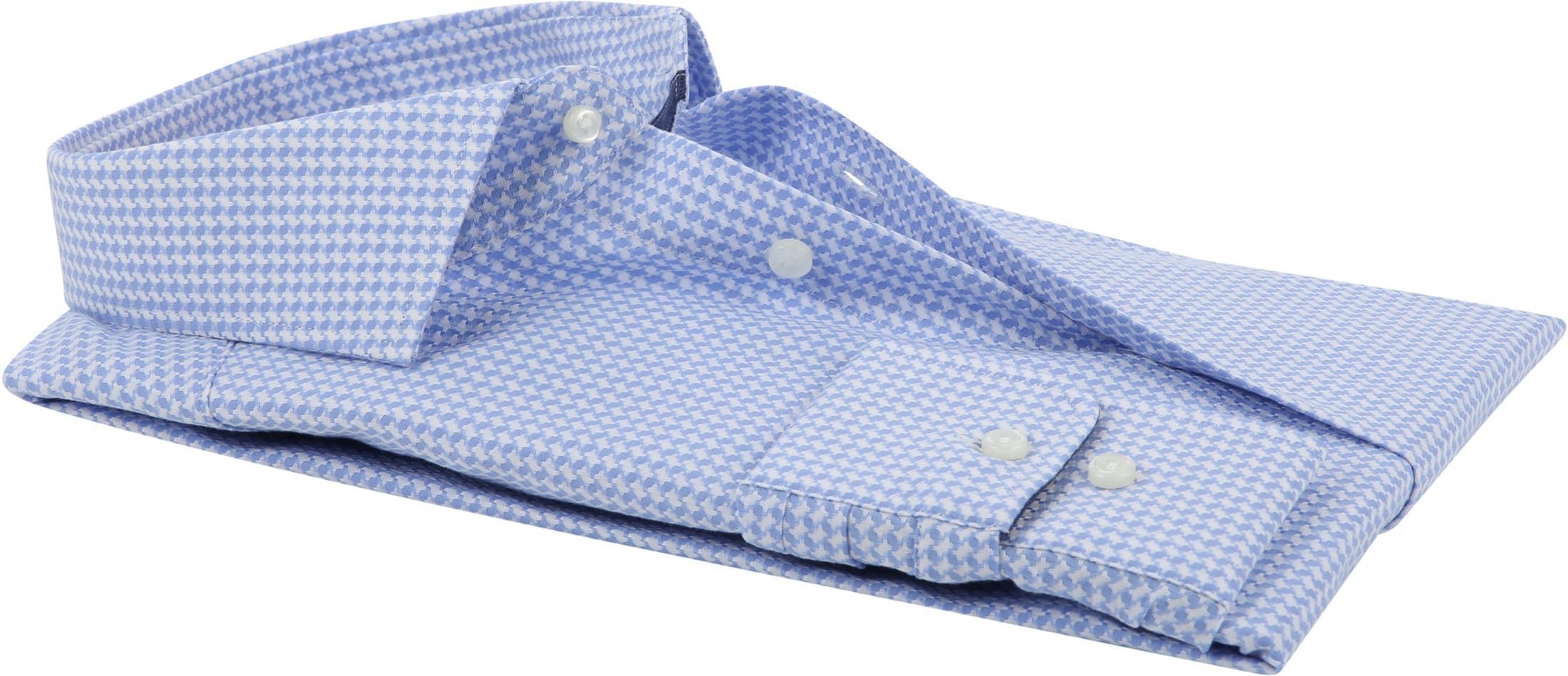 Suitable Overhemd Lichtblauw Wesley foto 3