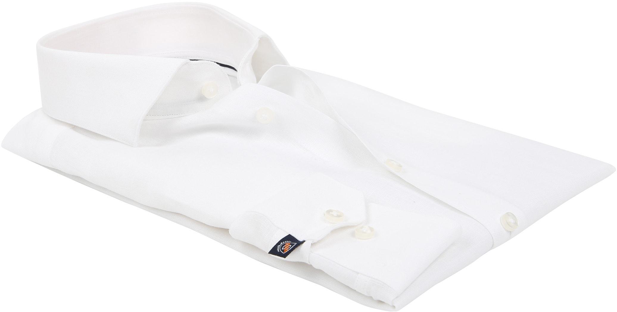 Suitable Overhemd Linnen Wit D81-13 foto 3