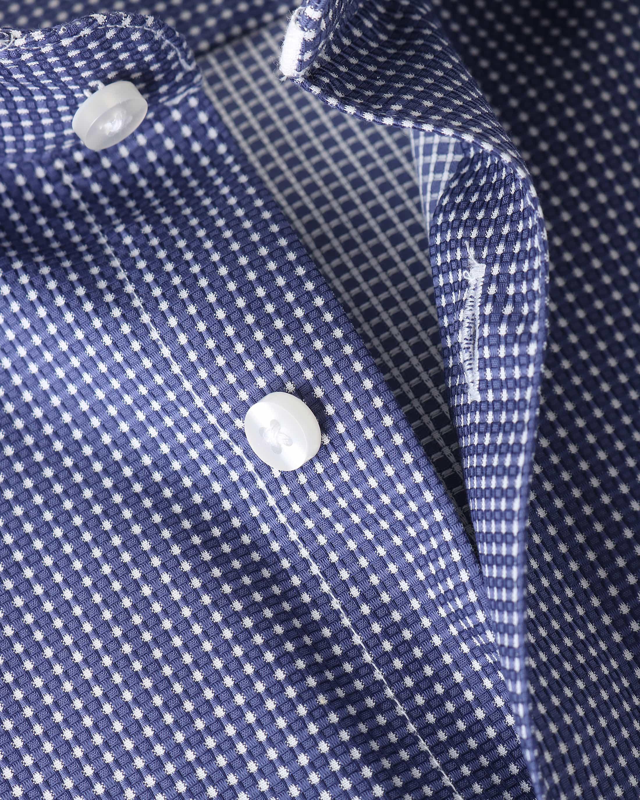 Suitable Overhemd Navy Checks Dot foto 1