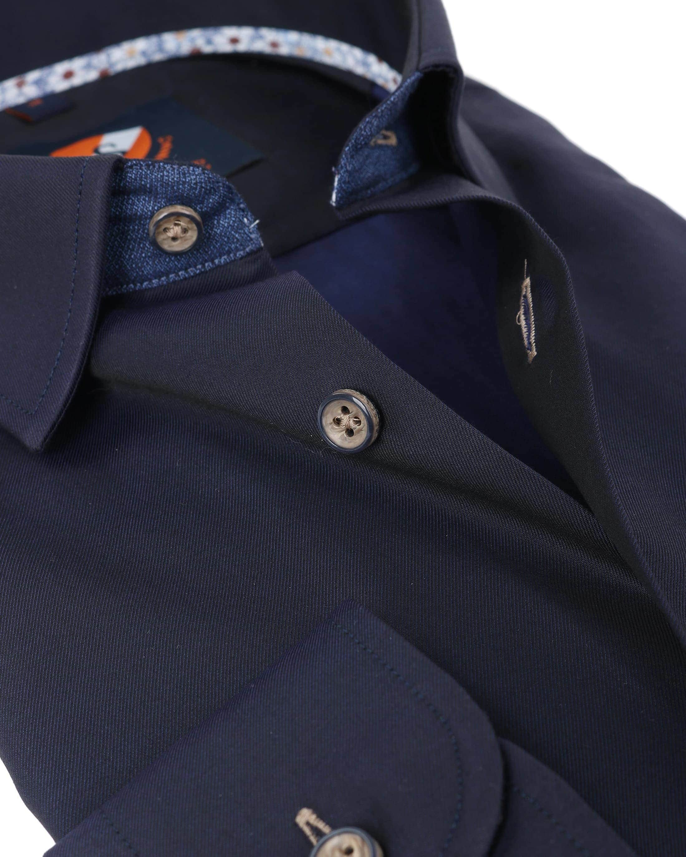 Suitable Overhemd Navy Twill foto 3