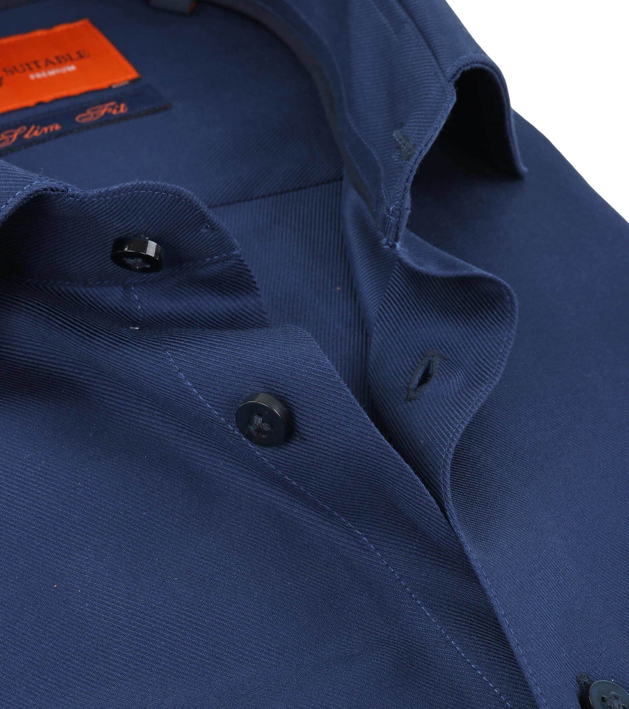 Suitable Overhemd Navy Twill DR-05 foto 2