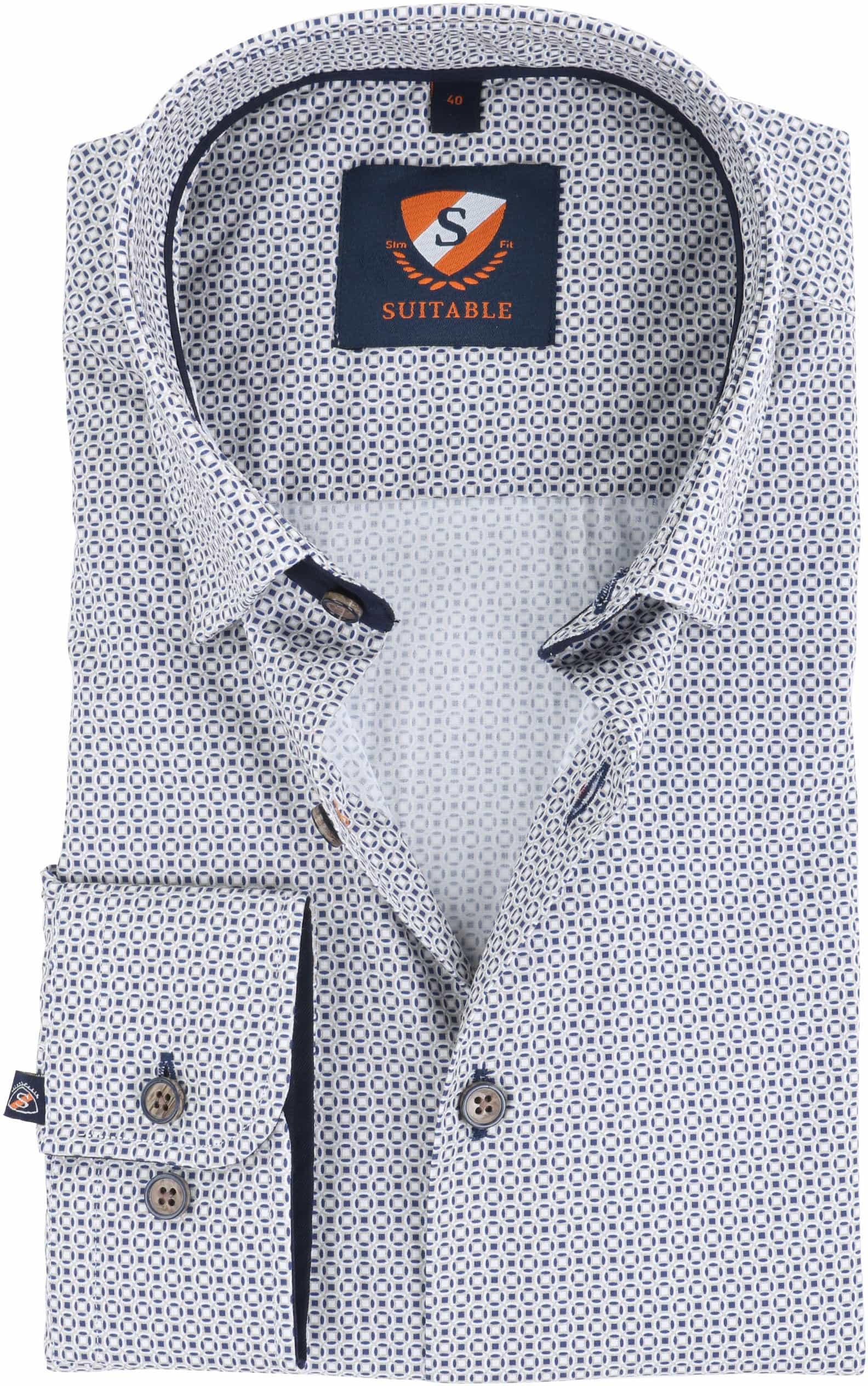 Suitable Overhemd Prince Print HBD foto 0