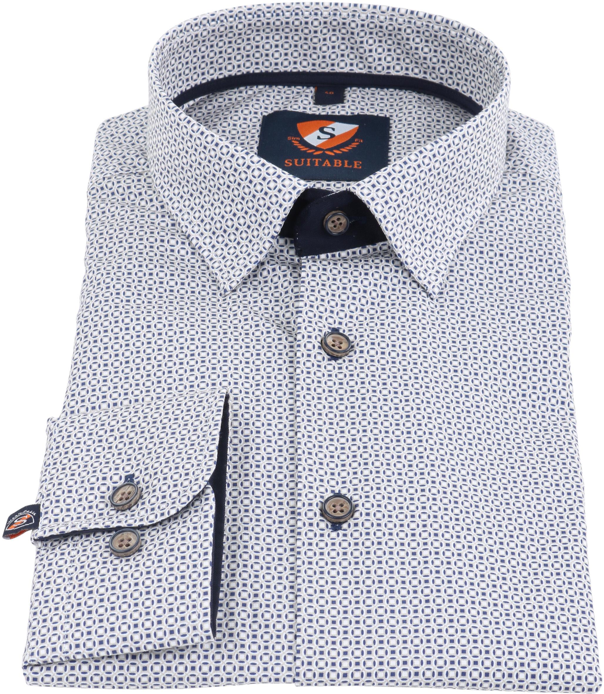 Suitable Overhemd Prince Print HBD foto 1