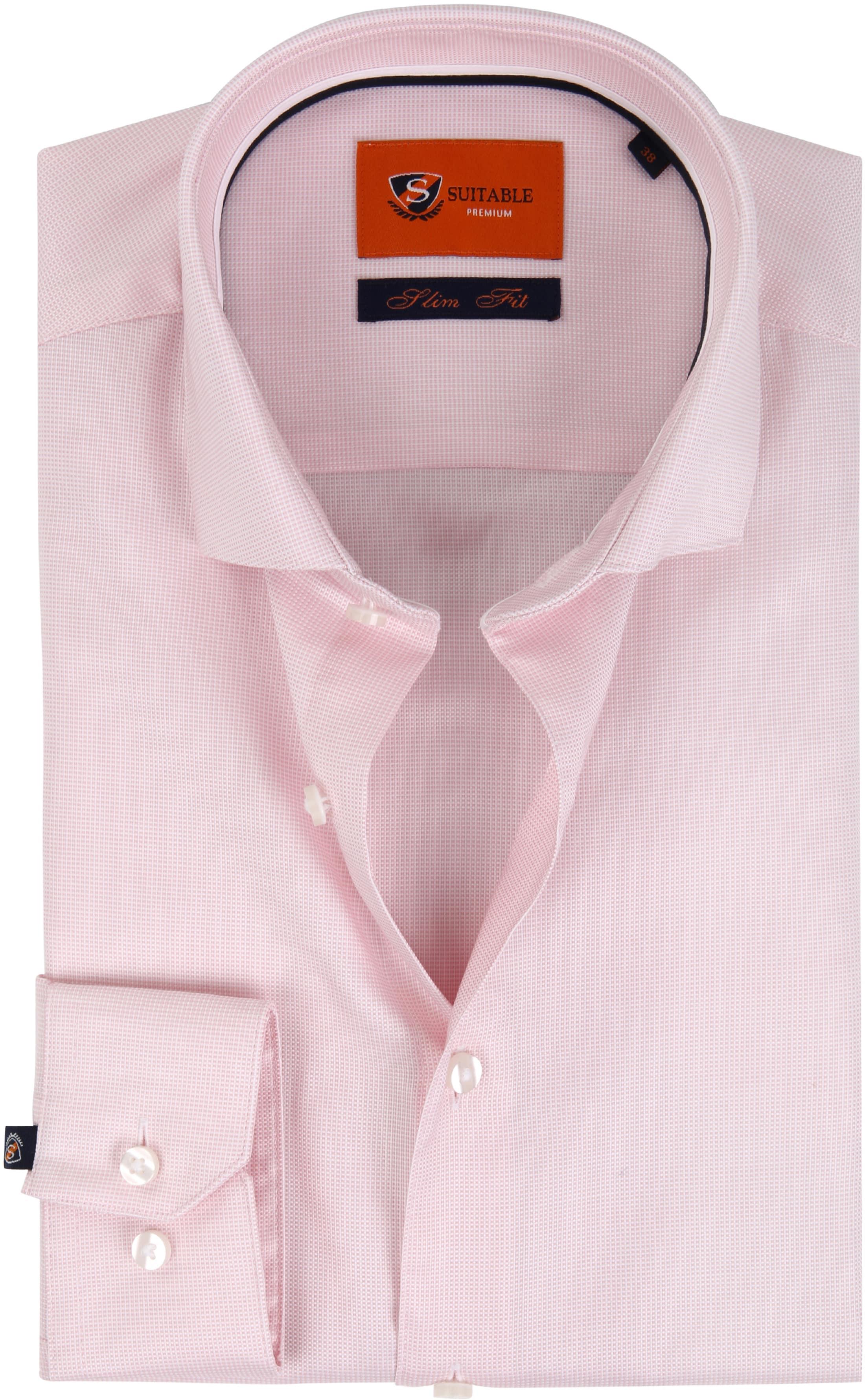 Suitable Overhemd Roze D81-16 foto 0