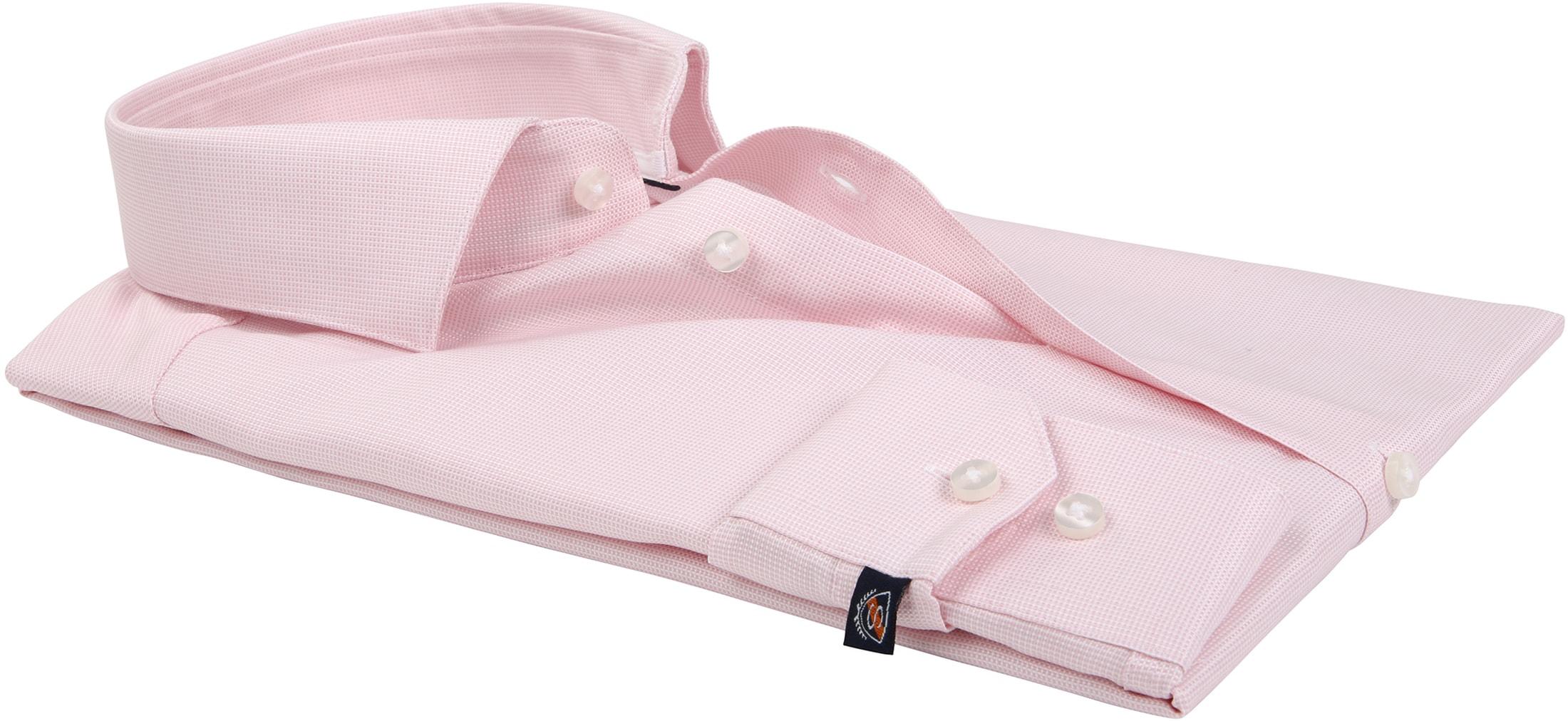 Suitable Overhemd Roze D81-16 foto 3