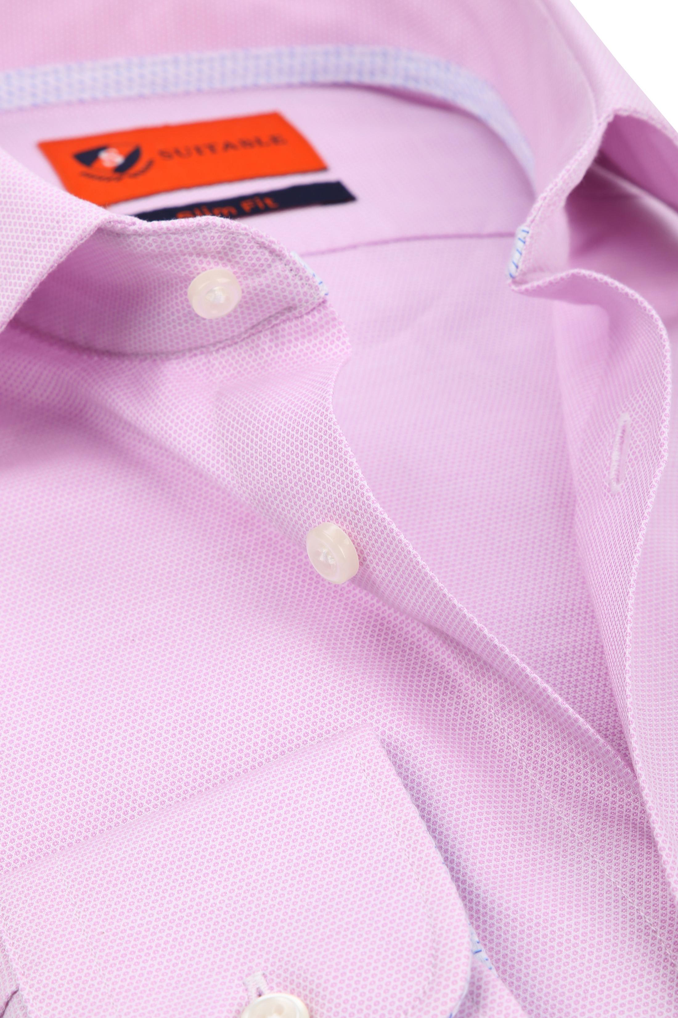 Suitable Overhemd Roze Wesley foto 1