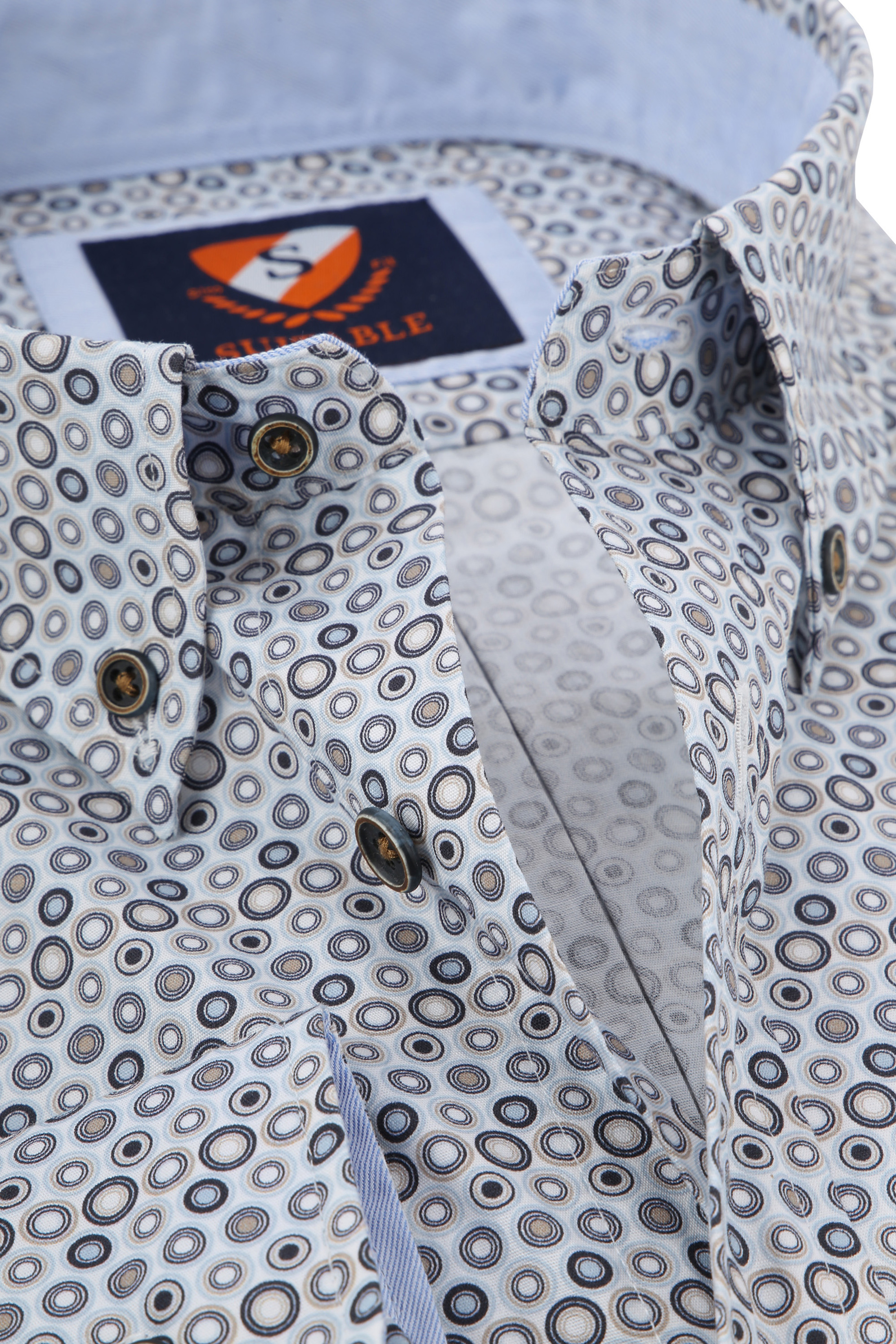 Suitable Overhemd SF Blue Dots foto 1