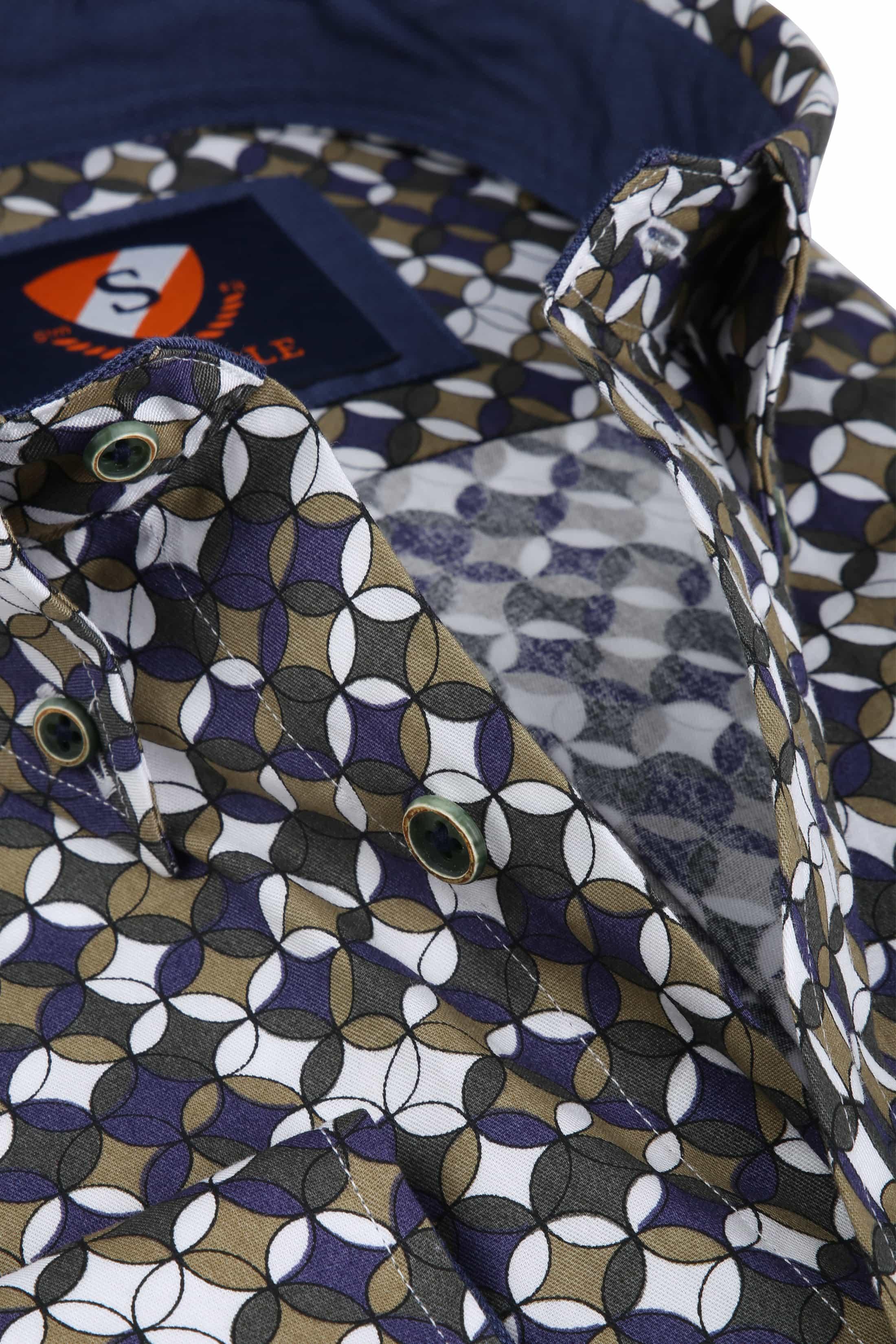 Suitable Overhemd SF Willem Groen foto 1