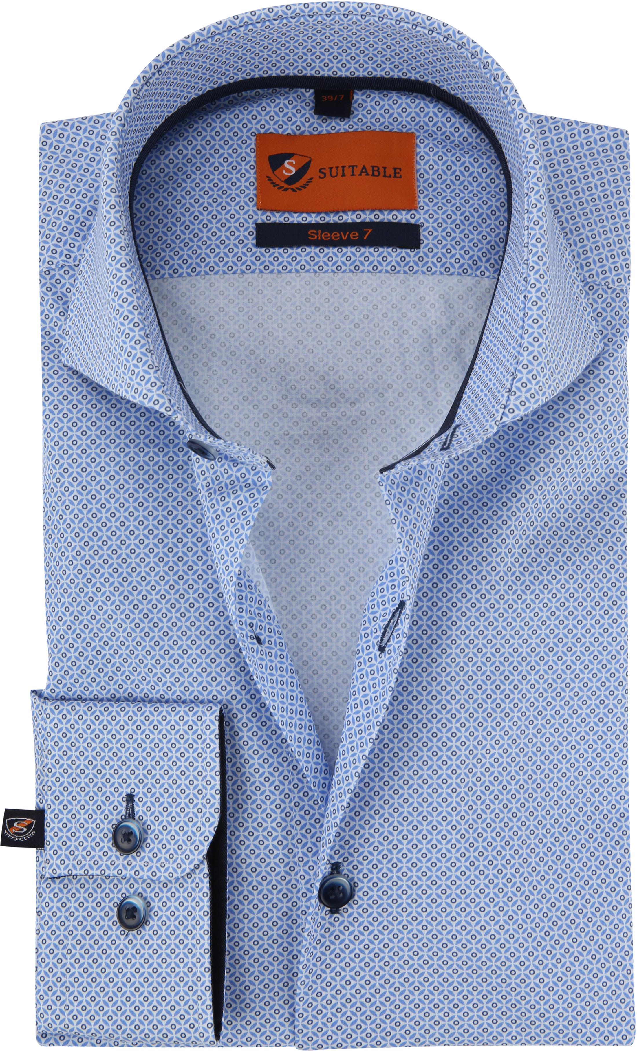 Suitable Overhemd SL7 Blauw foto 0