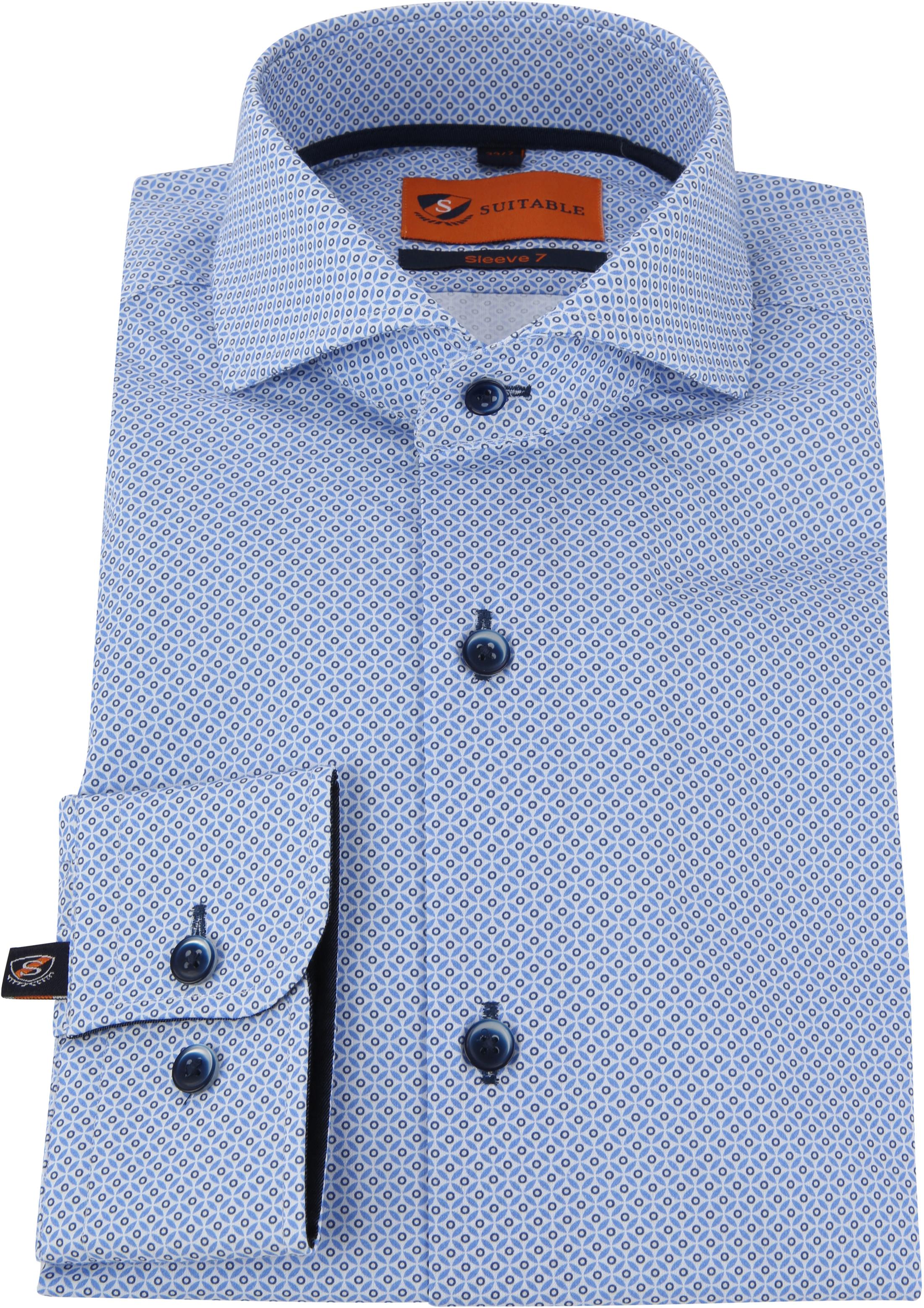 Suitable Overhemd SL7 Blauw foto 2