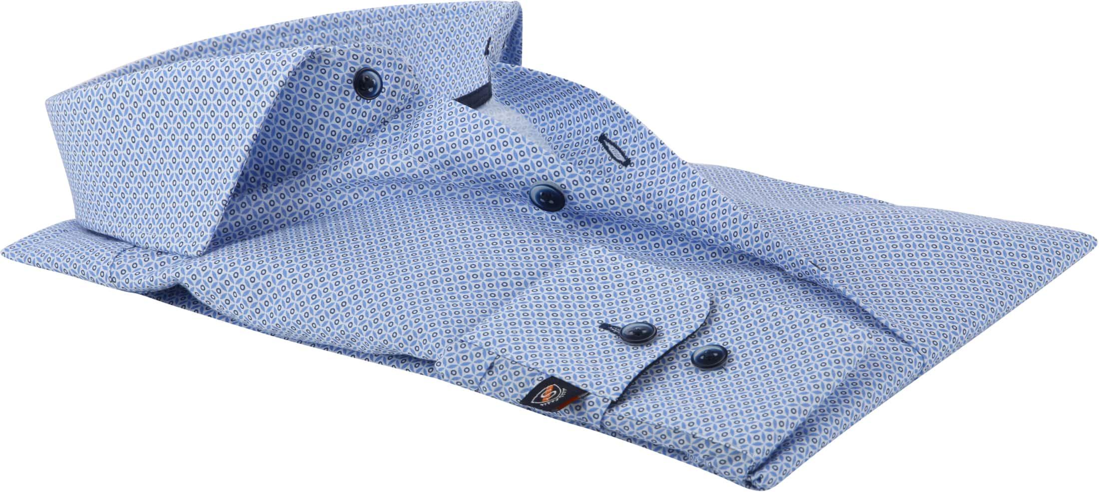Suitable Overhemd SL7 Blauw foto 3