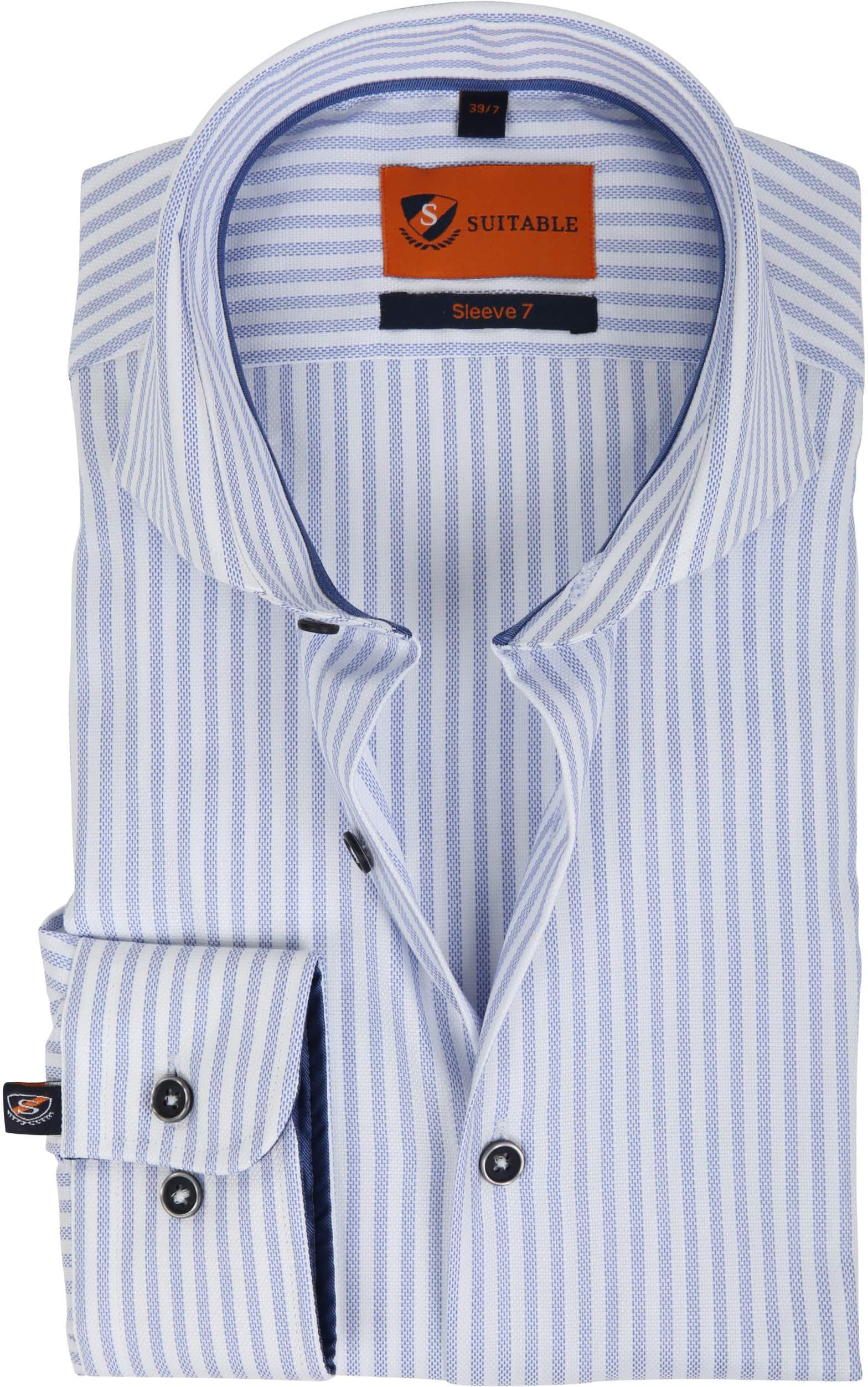 Suitable Overhemd SL7 Streep 180-3 foto 0