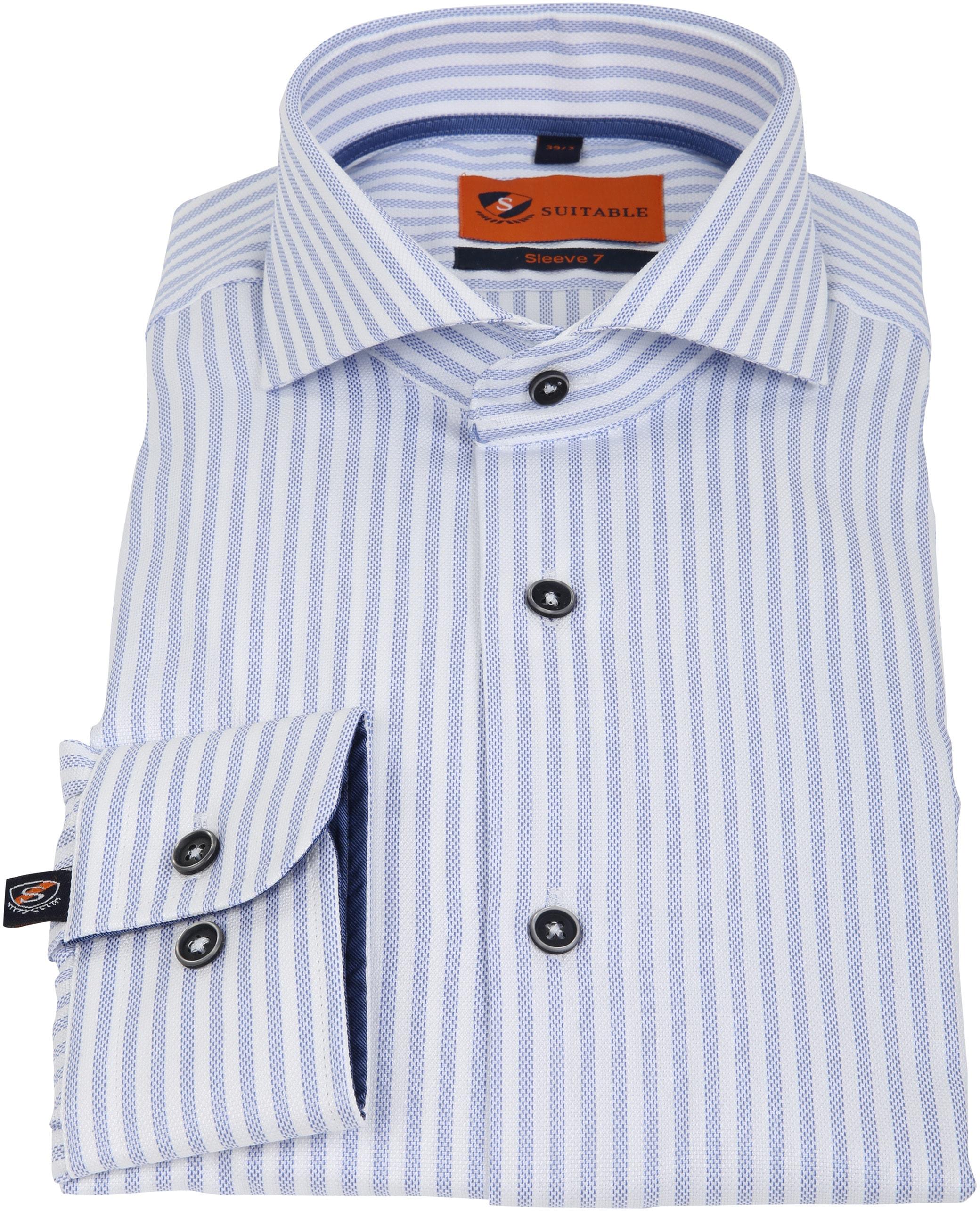 Suitable Overhemd SL7 Streep 180-3 foto 2