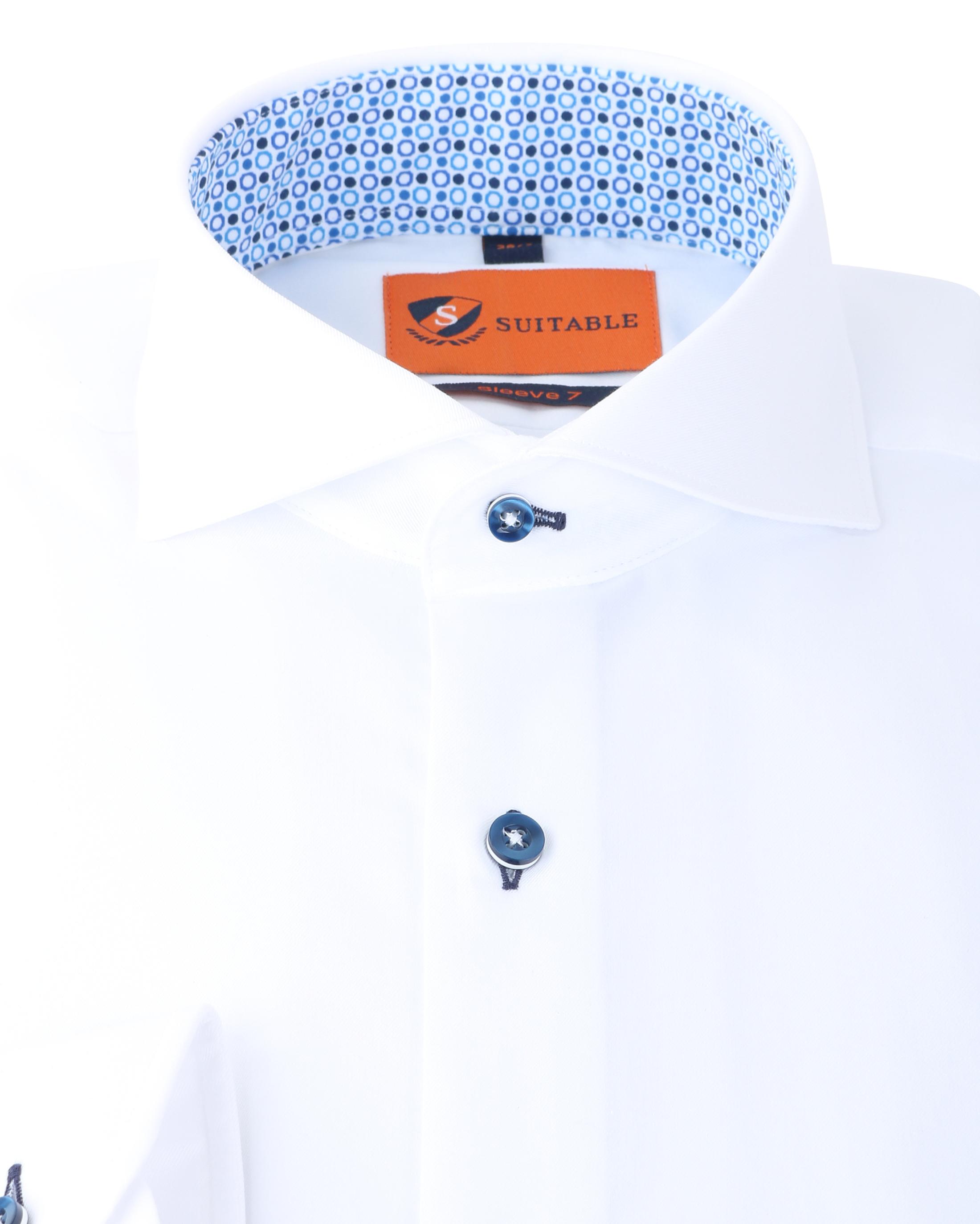 Suitable Overhemd SL7 Wit 140-1 foto 1