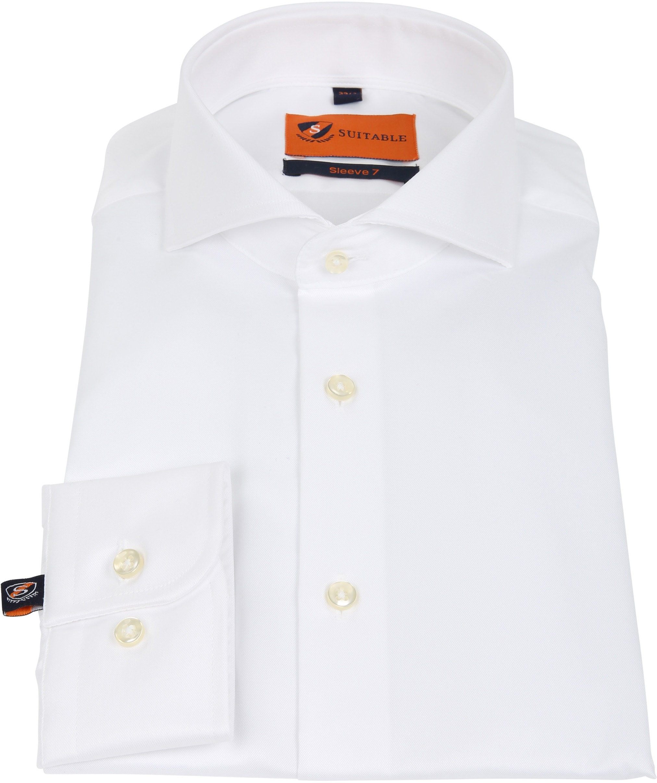 Suitable Overhemd SL7 Wit 180-1 foto 2