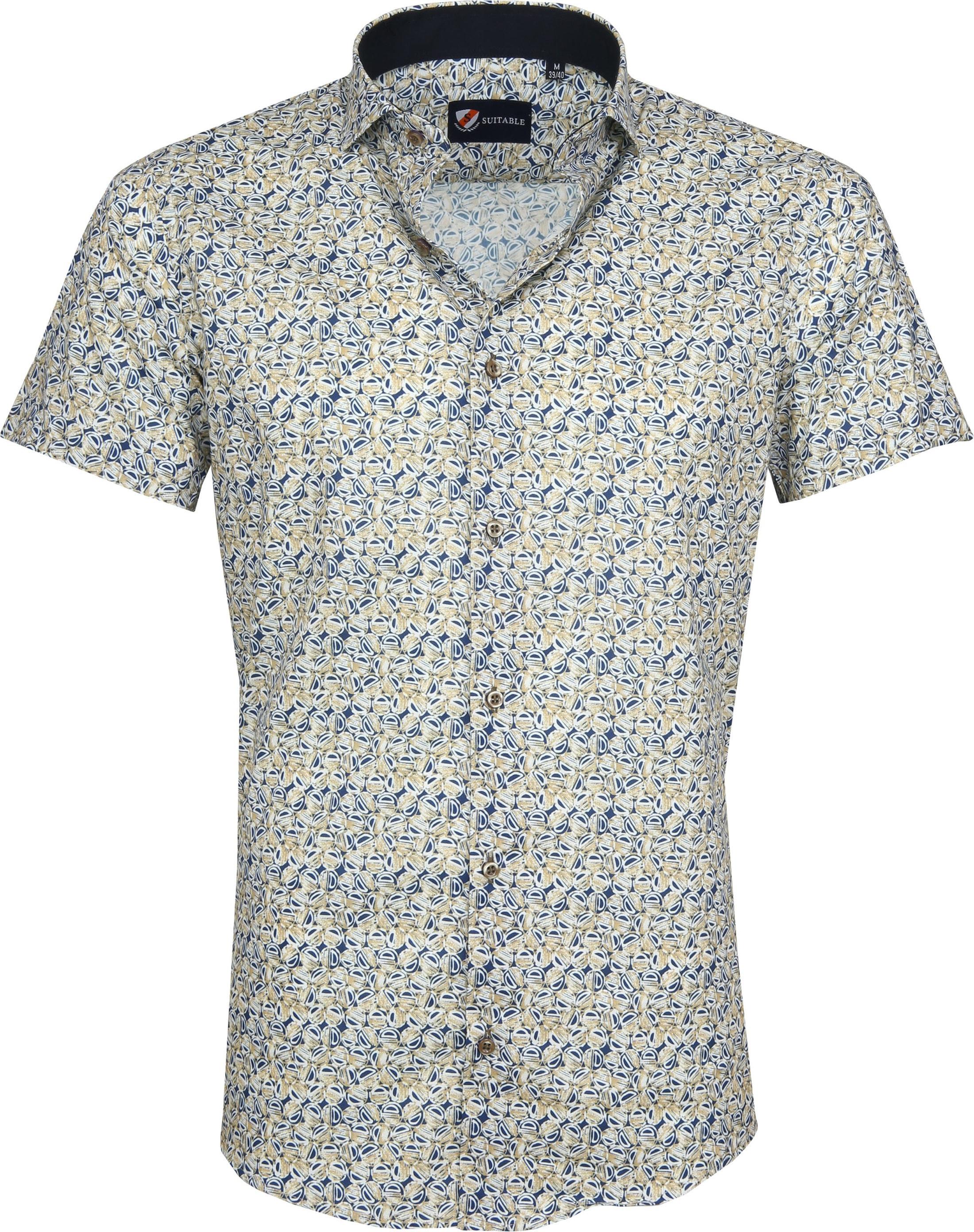Suitable Overhemd SS Multicolour Print foto 0