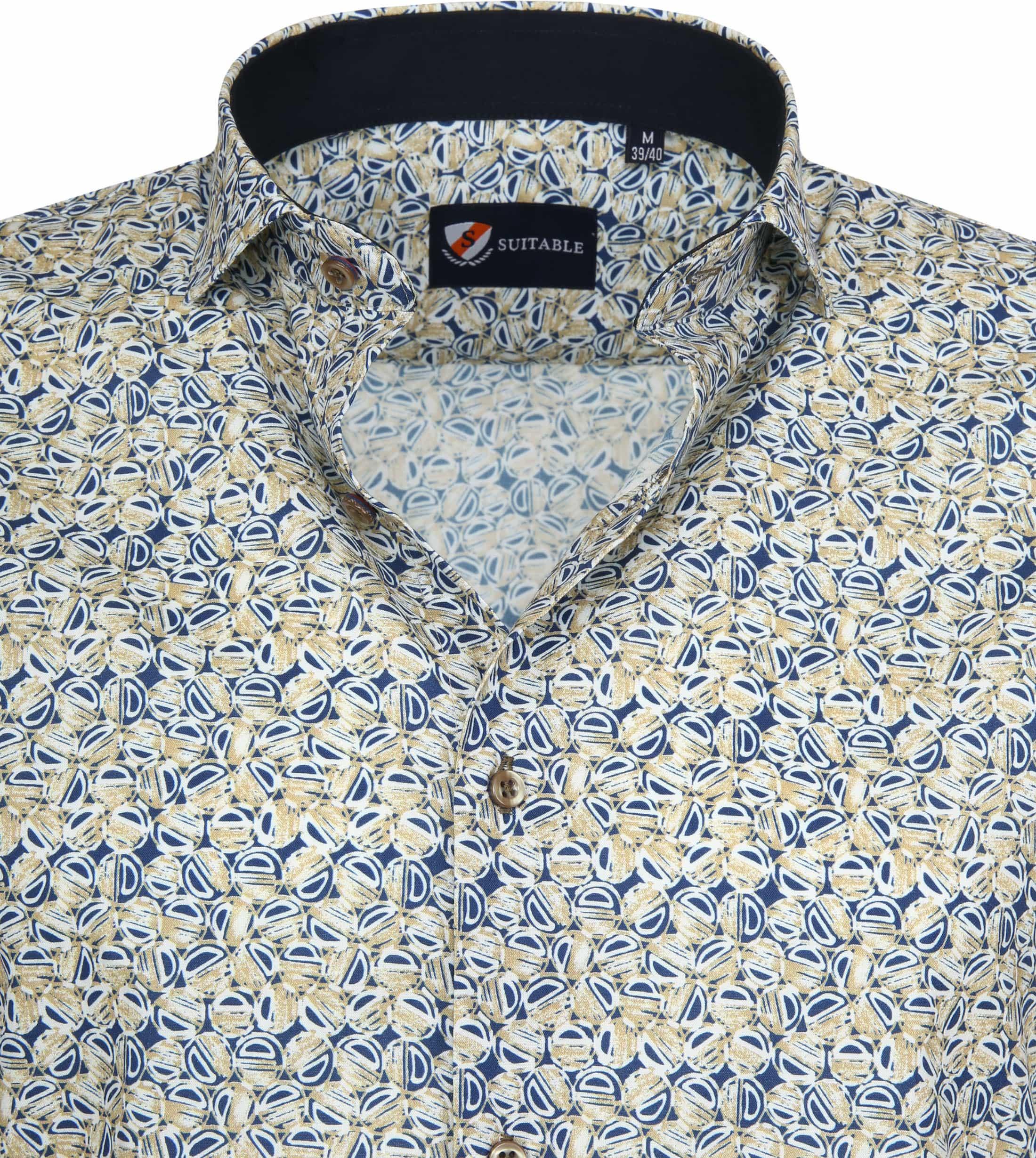 Suitable Overhemd SS Multicolour Print foto 1