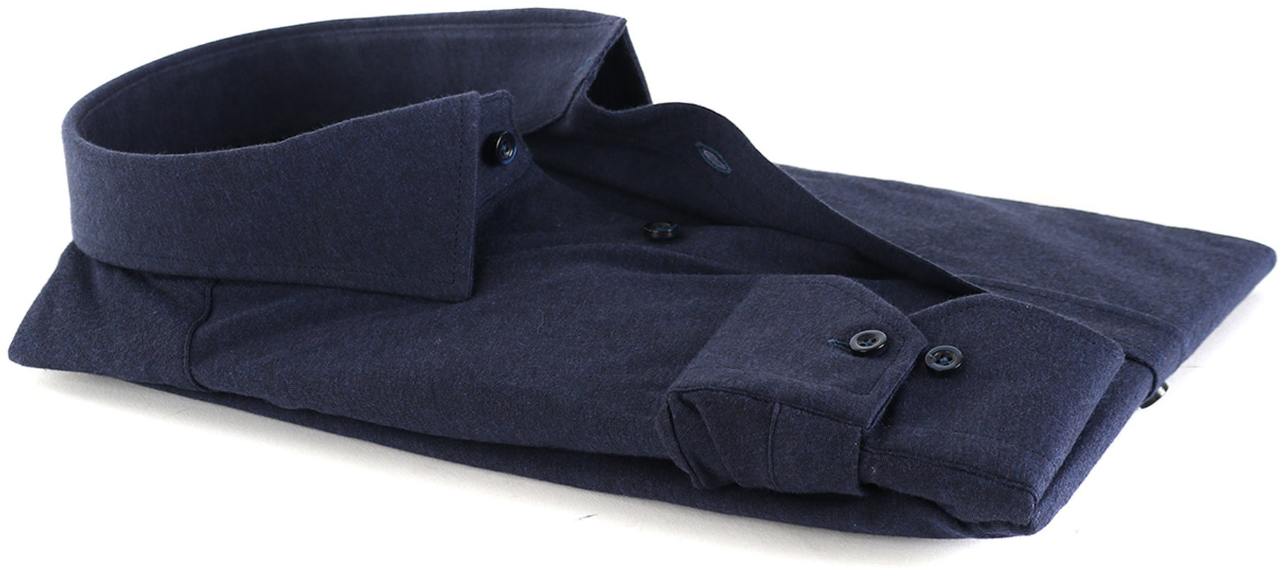 Suitable Overhemd Stretch Navy foto 3