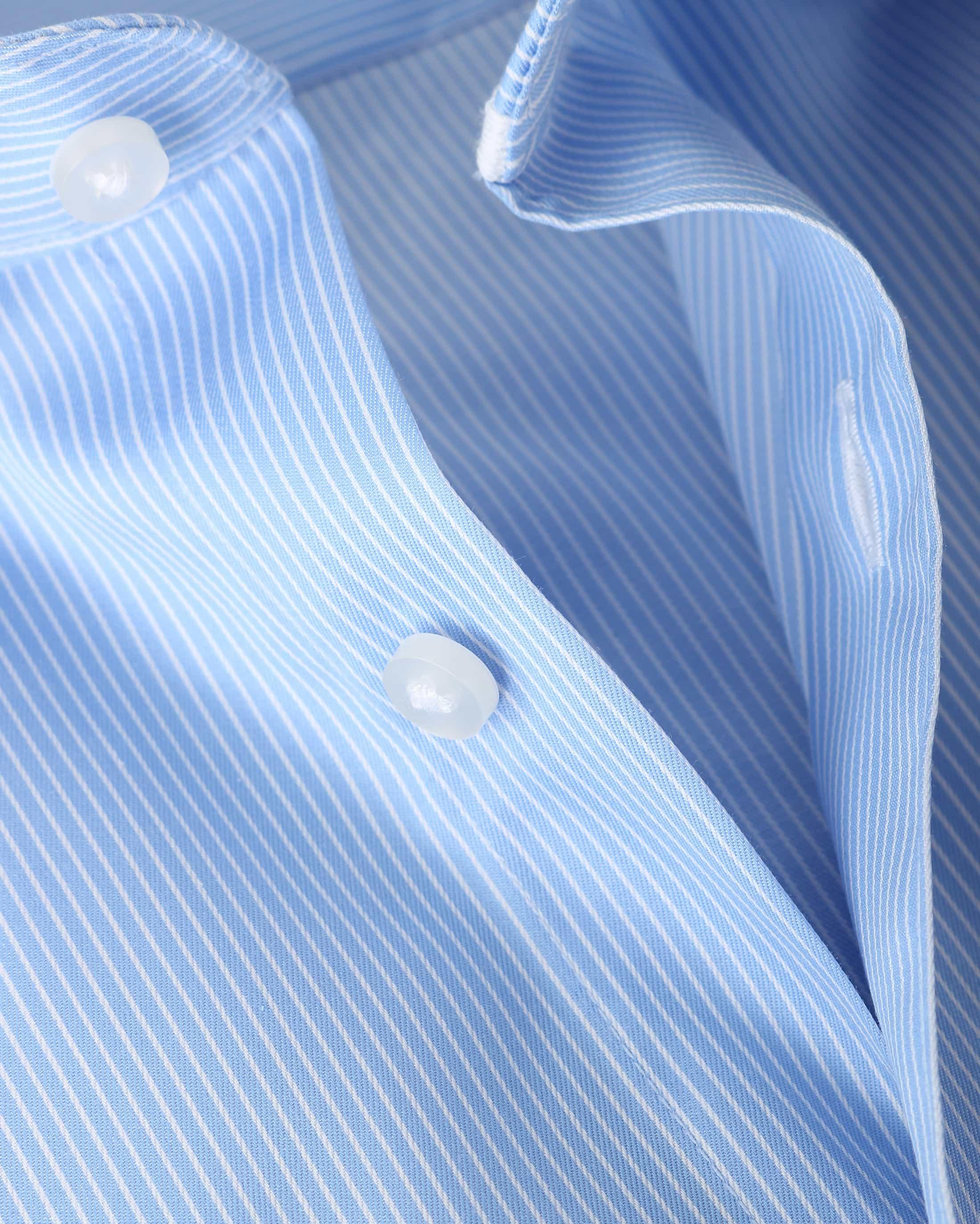 Suitable Overhemd Stripe Blue Adam foto 1