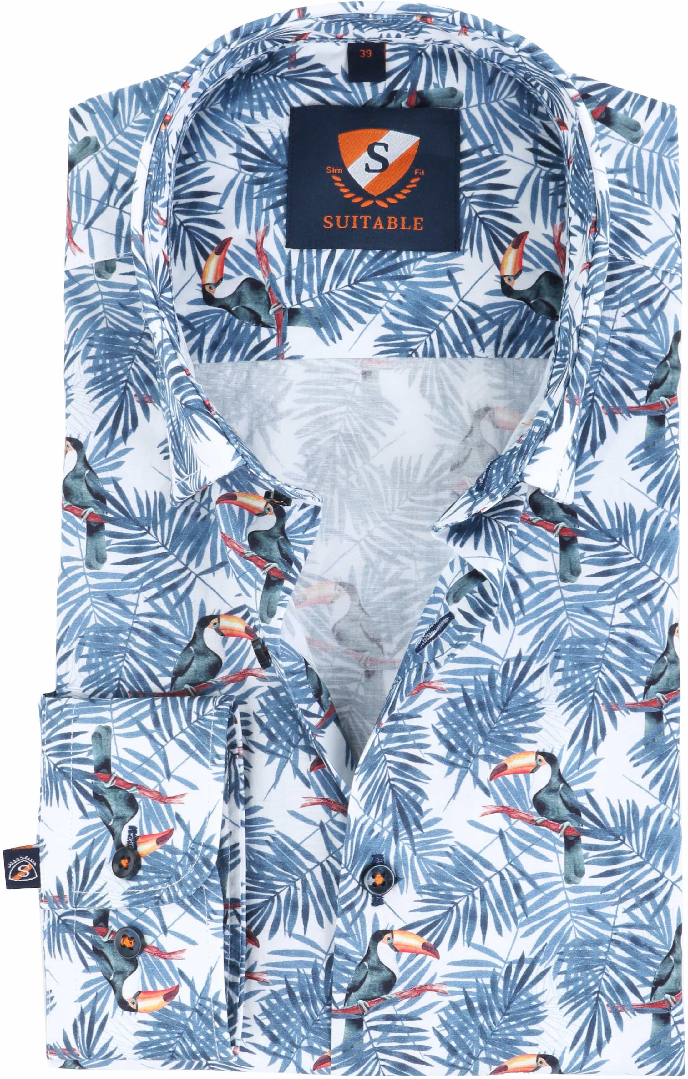 Suitable Overhemd Toekan Print foto 0