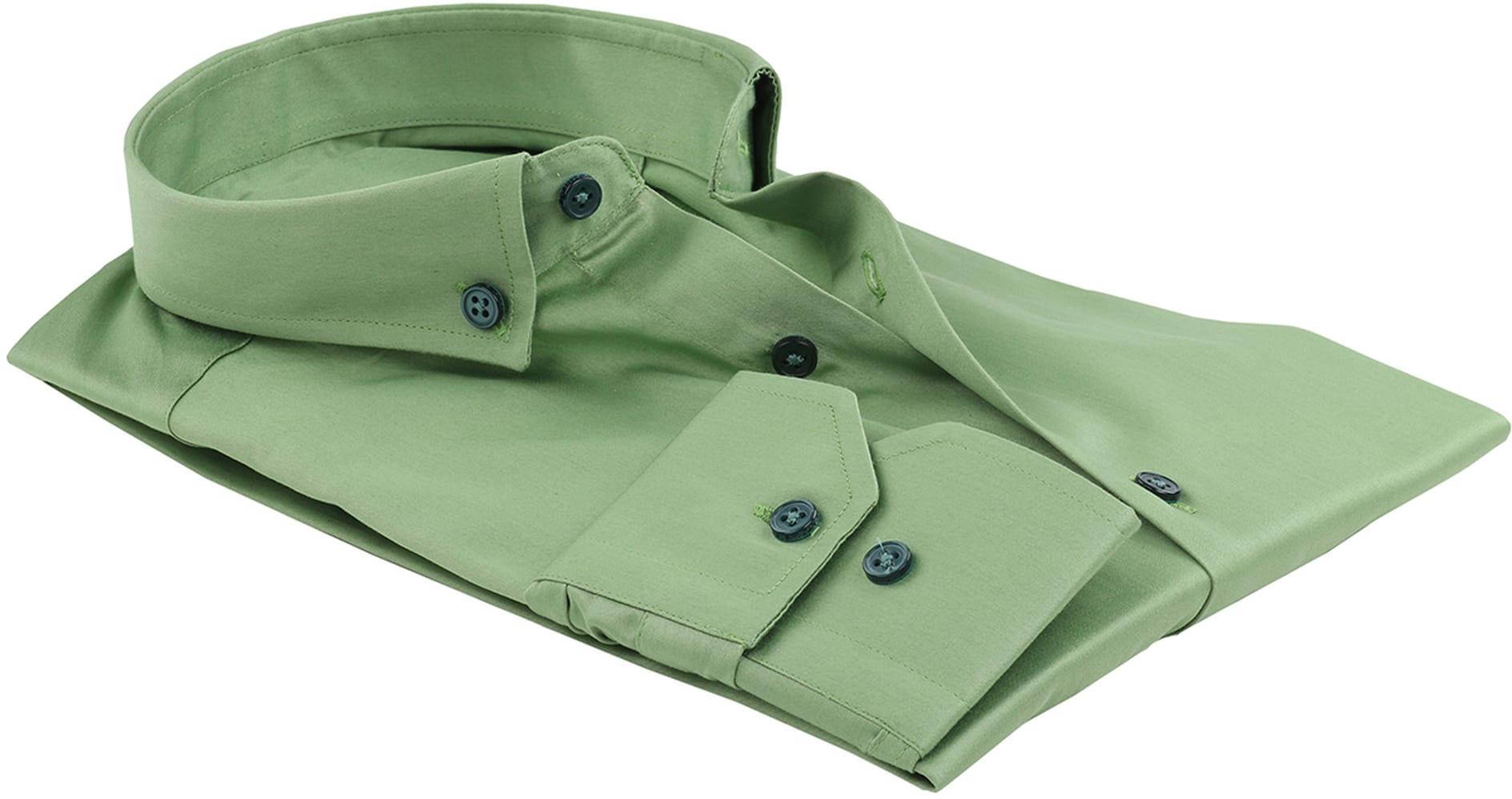 Suitable Overhemd Uni Groen foto 3