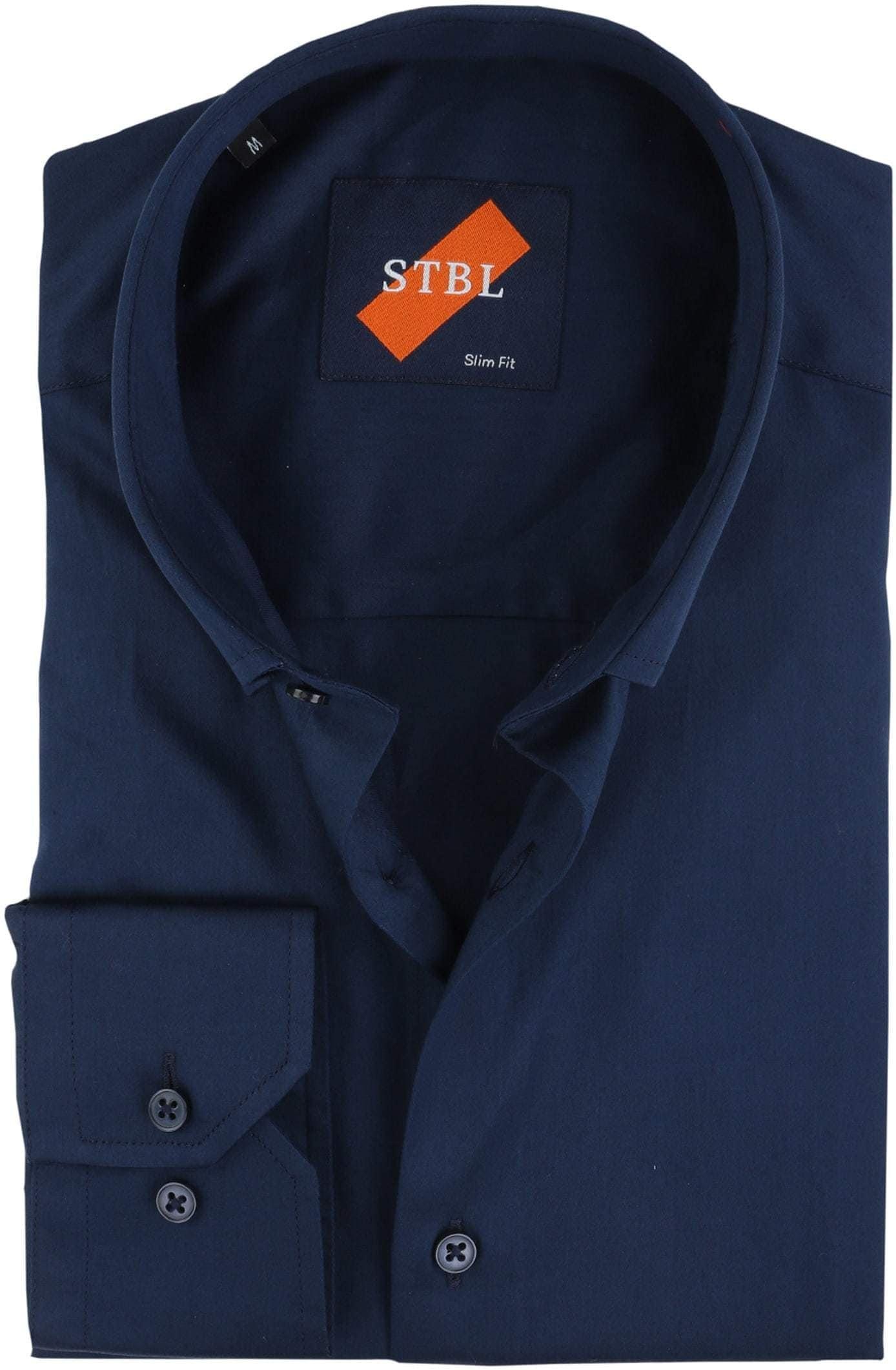 Suitable Overhemd Uni Navy foto 0