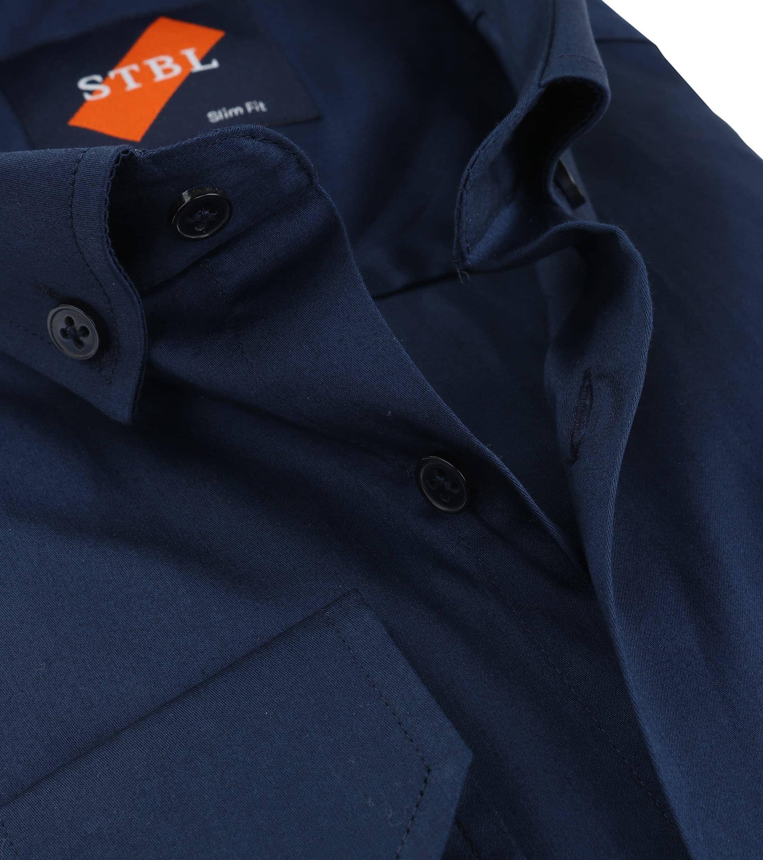 Suitable Overhemd Uni Navy foto 1