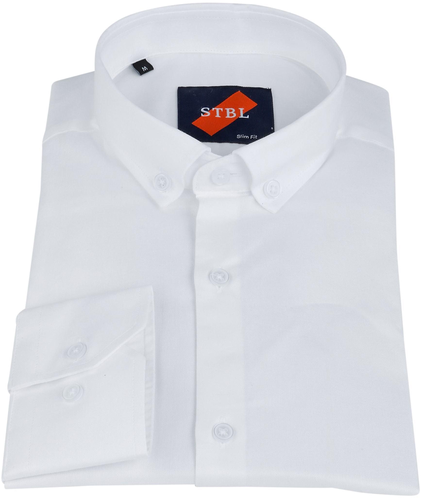 Suitable Overhemd Uni Wit foto 1