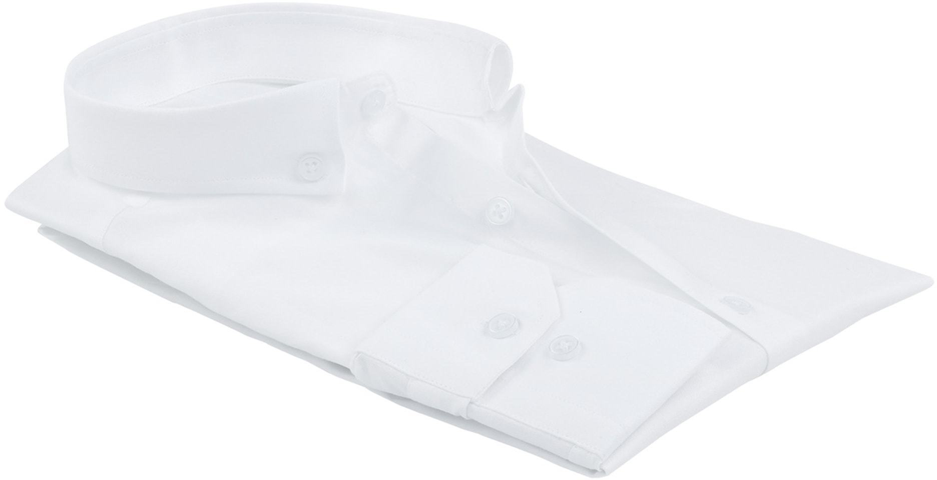 Suitable Overhemd Uni Wit foto 3