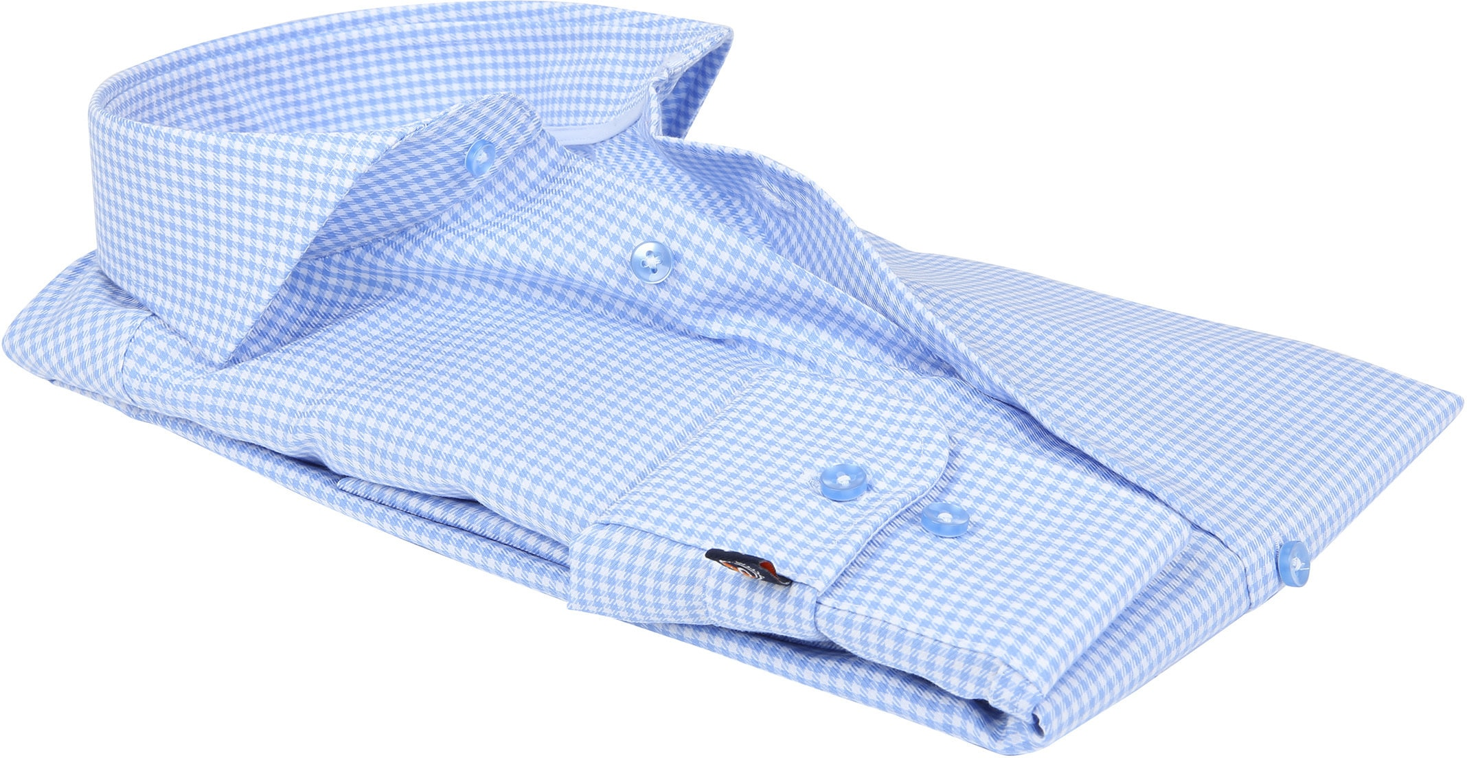 Suitable Overhemd Vichy Blue foto 3
