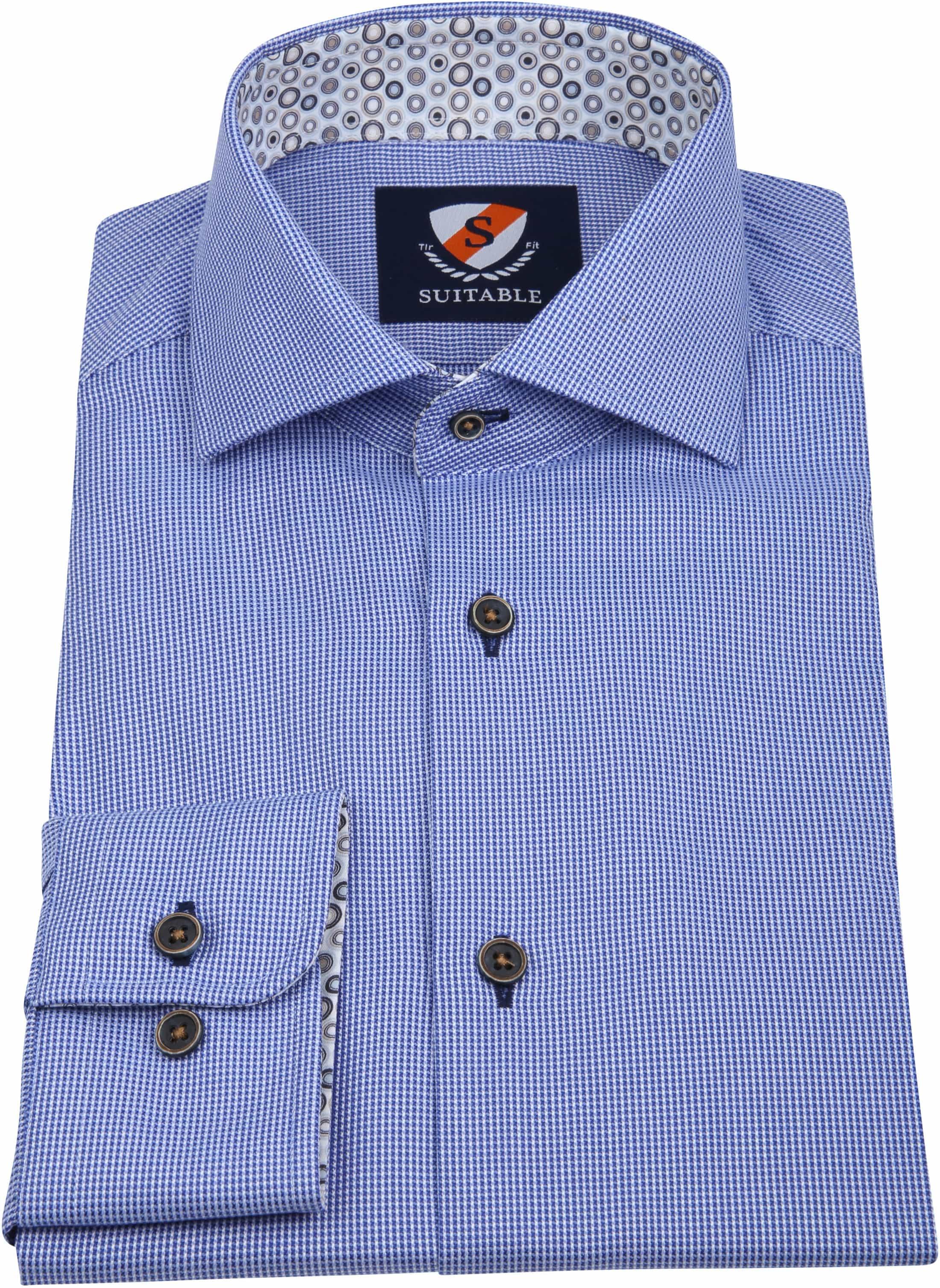 Suitable Overhemd Wesley Blauw foto 2