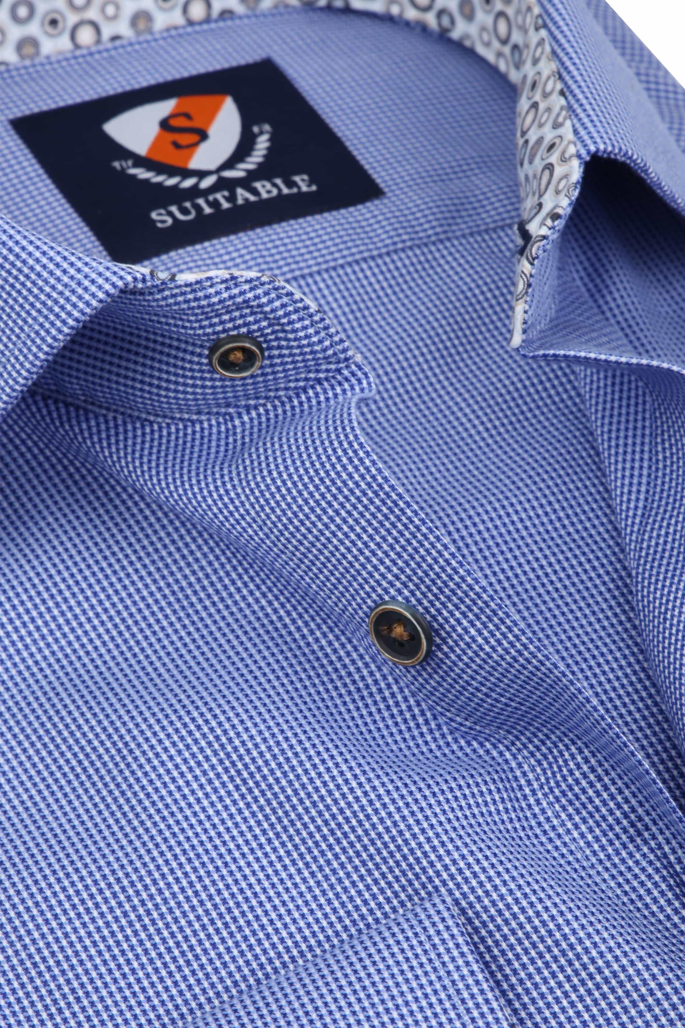 Suitable Overhemd Wesley Blauw foto 1