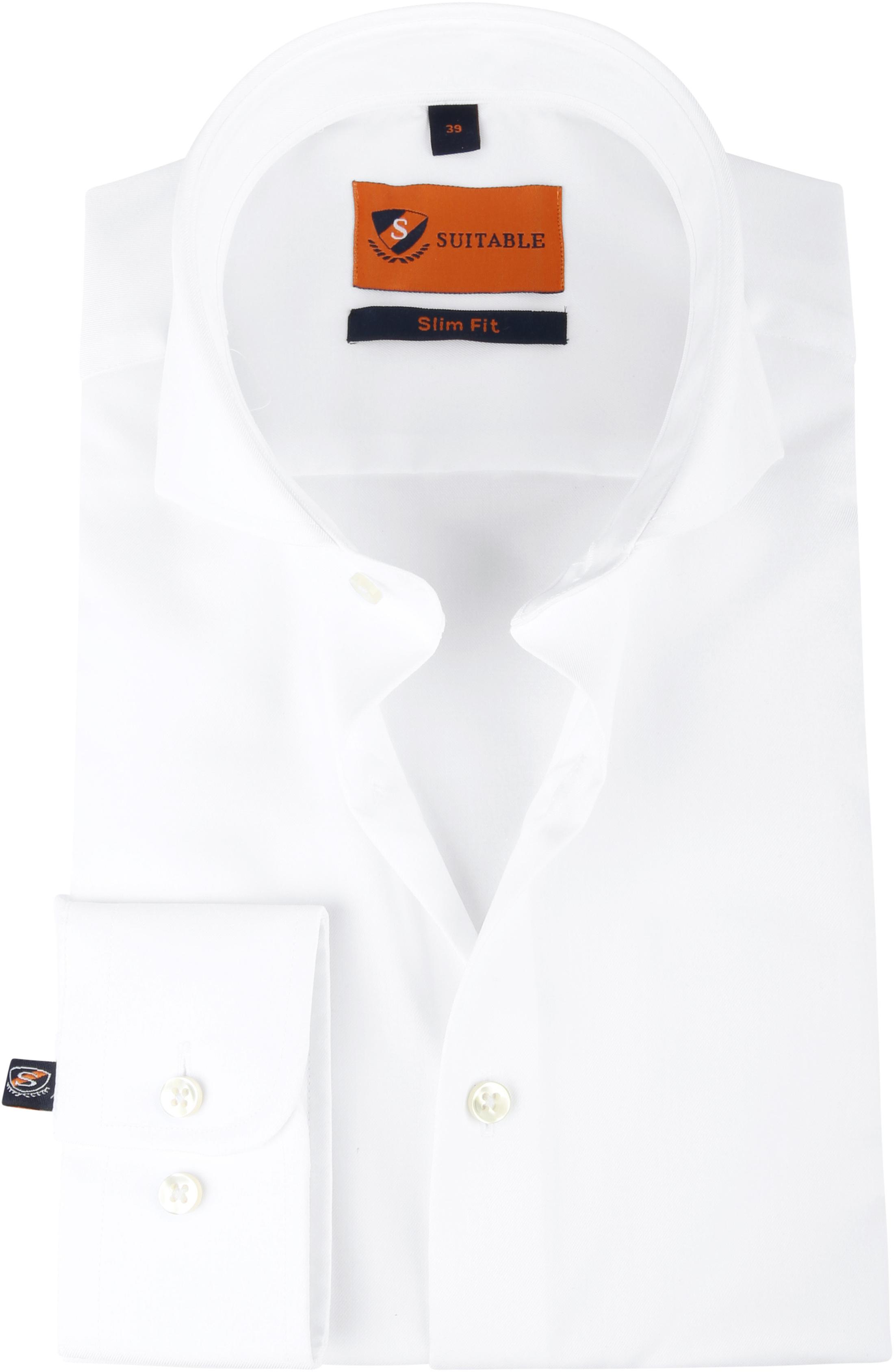 Suitable Overhemd Wit 146-7 foto 0