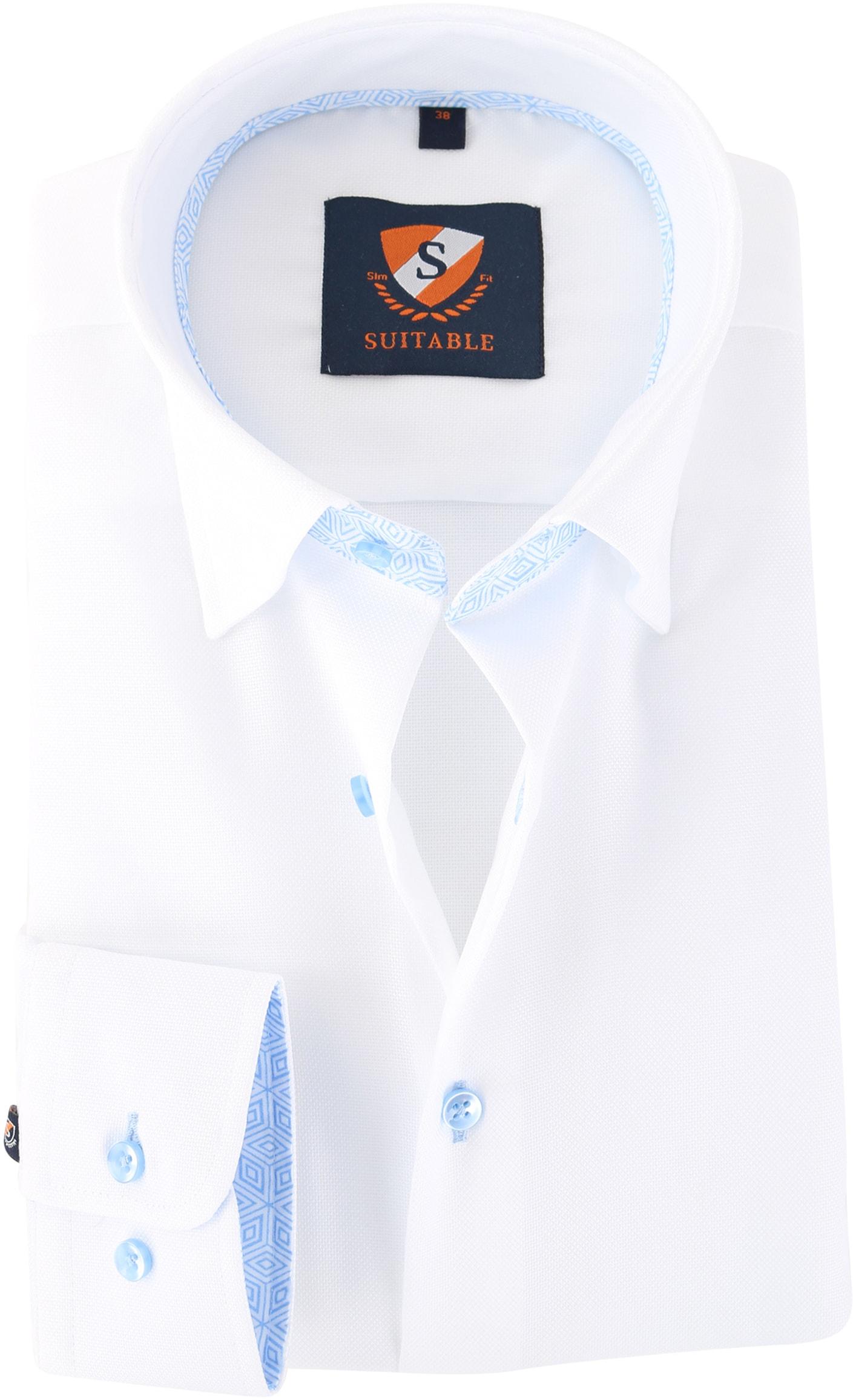 Suitable Overhemd Wit 149-1 foto 0