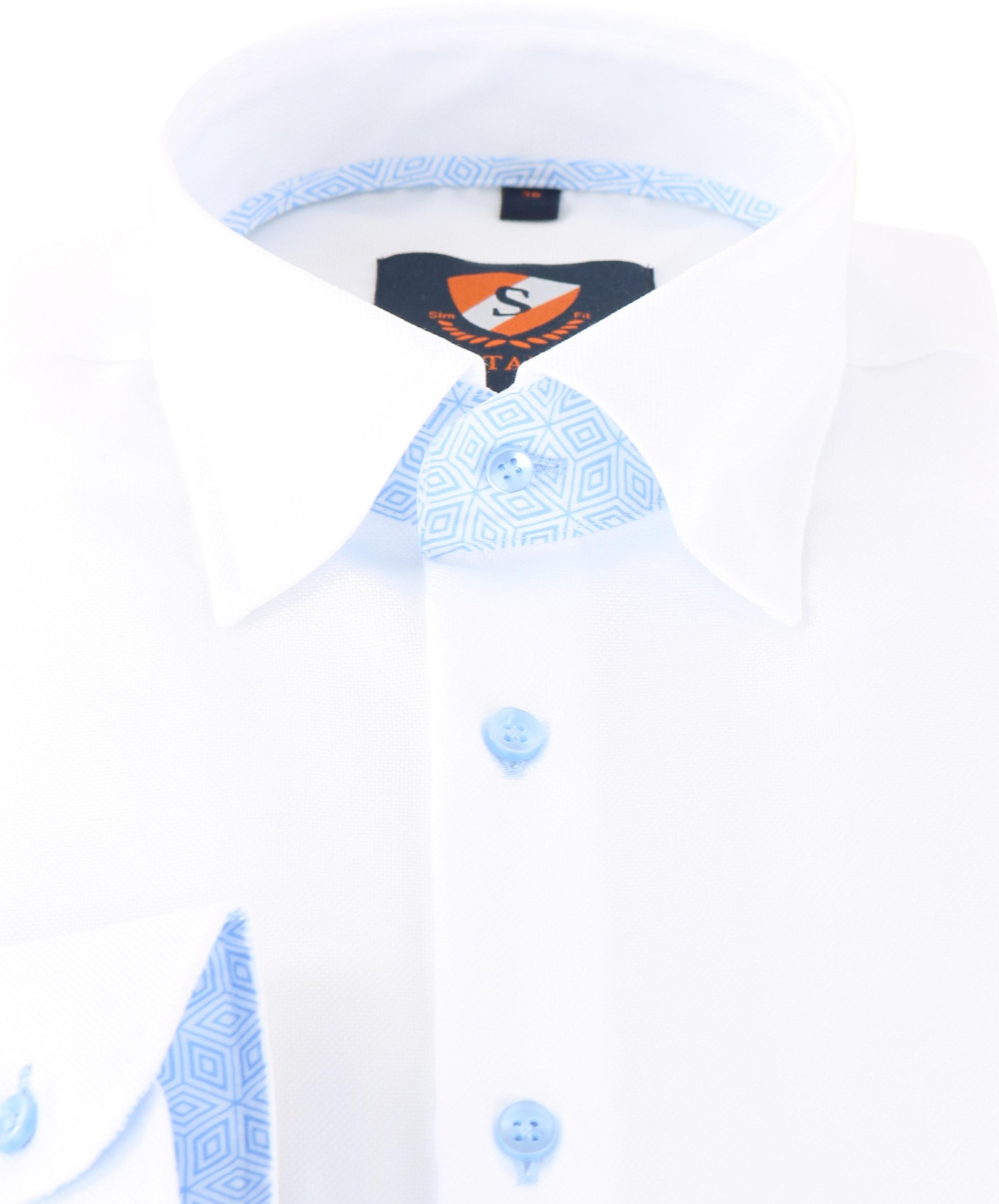 Suitable Overhemd Wit 149-1 foto 1