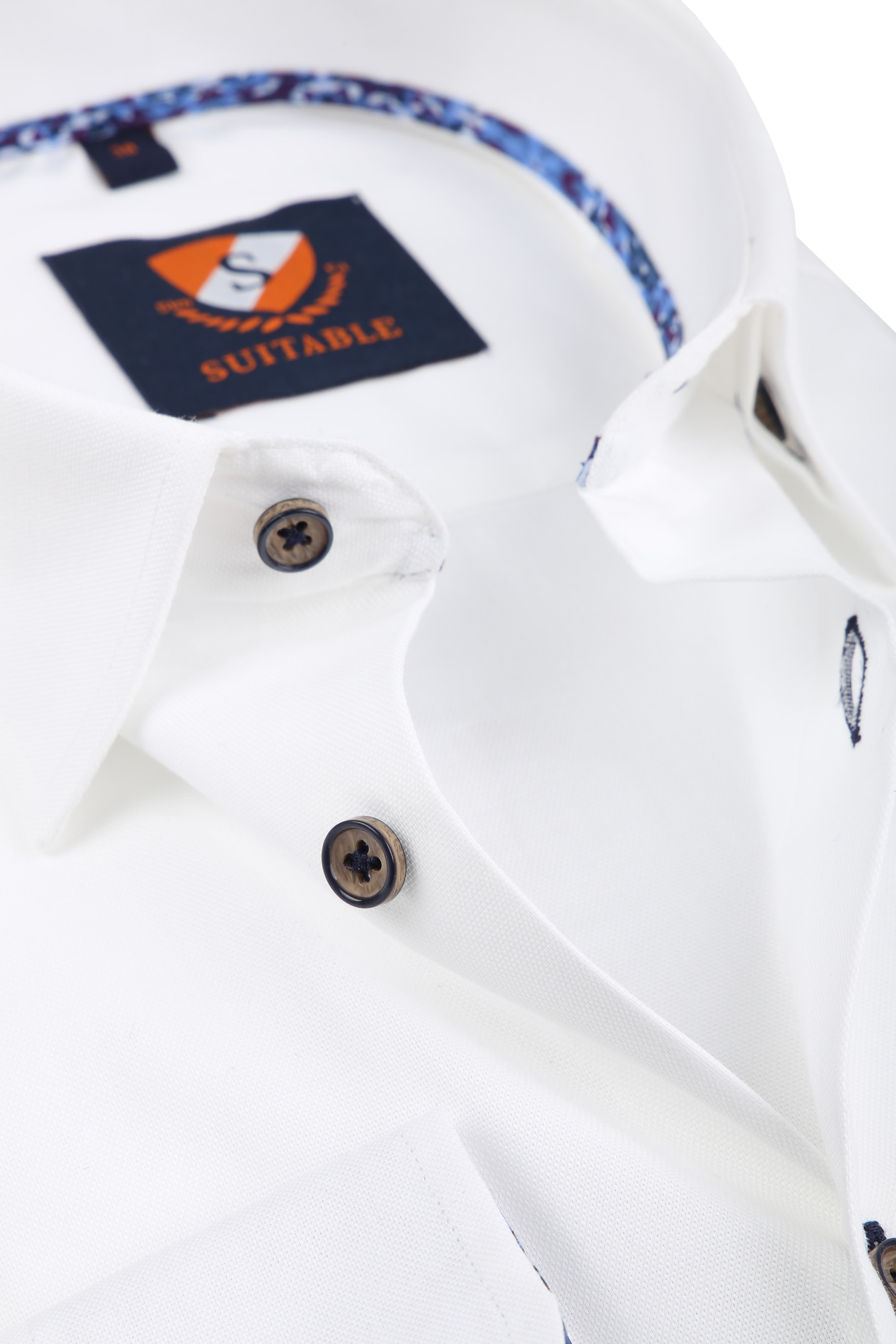 Suitable Overhemd Wit 188-1 foto 1
