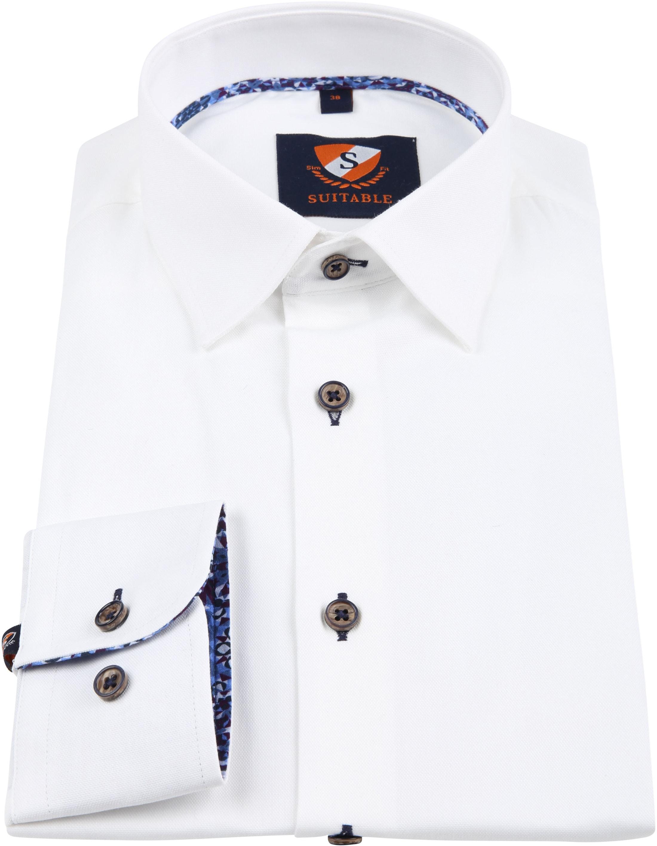 Suitable Overhemd Wit 188-1 foto 2