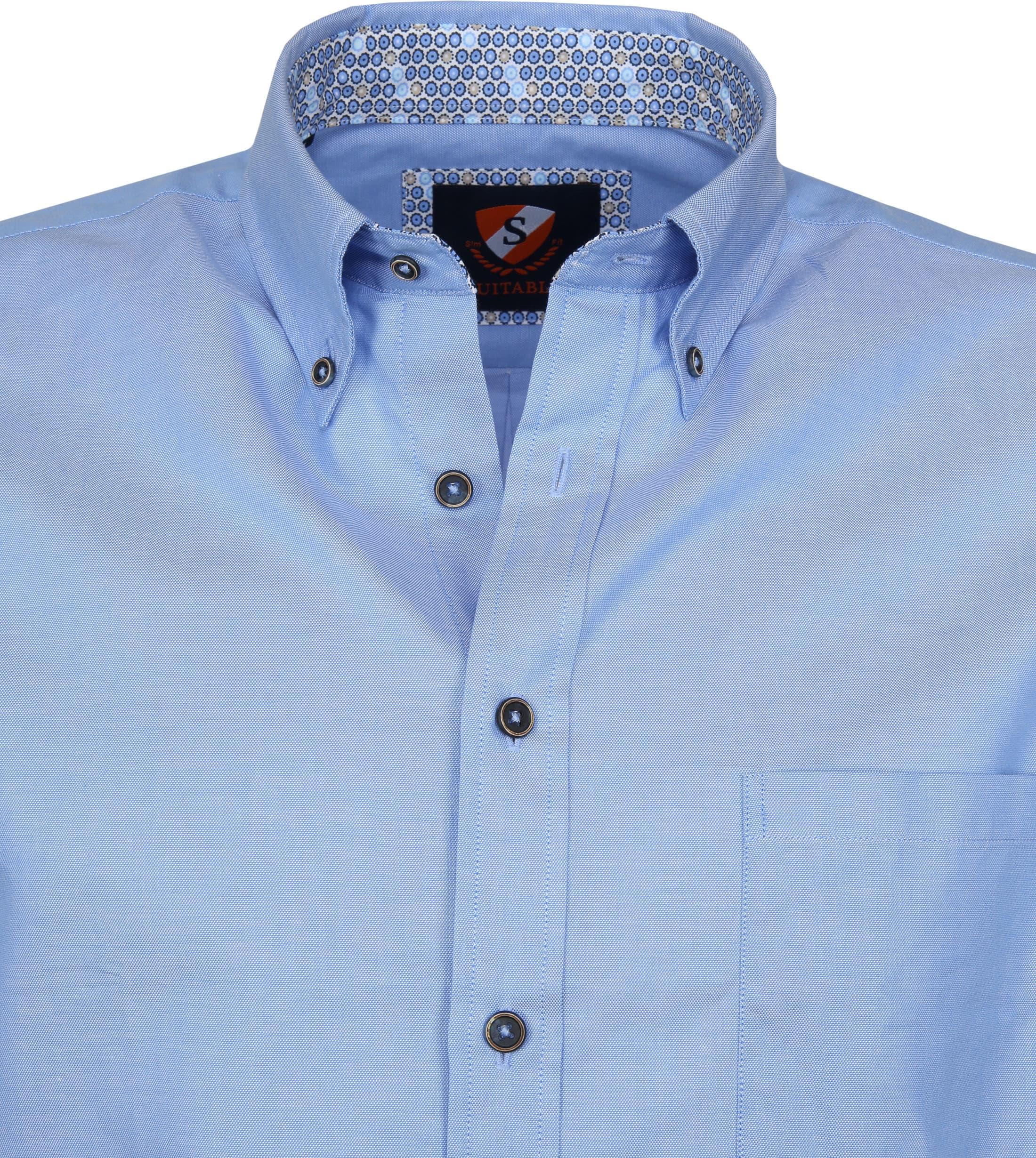 Suitable Overhemd Wolf Lichtblauw foto 2